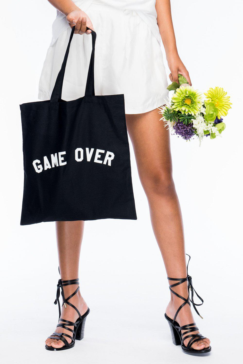 GAME OVER TOTE