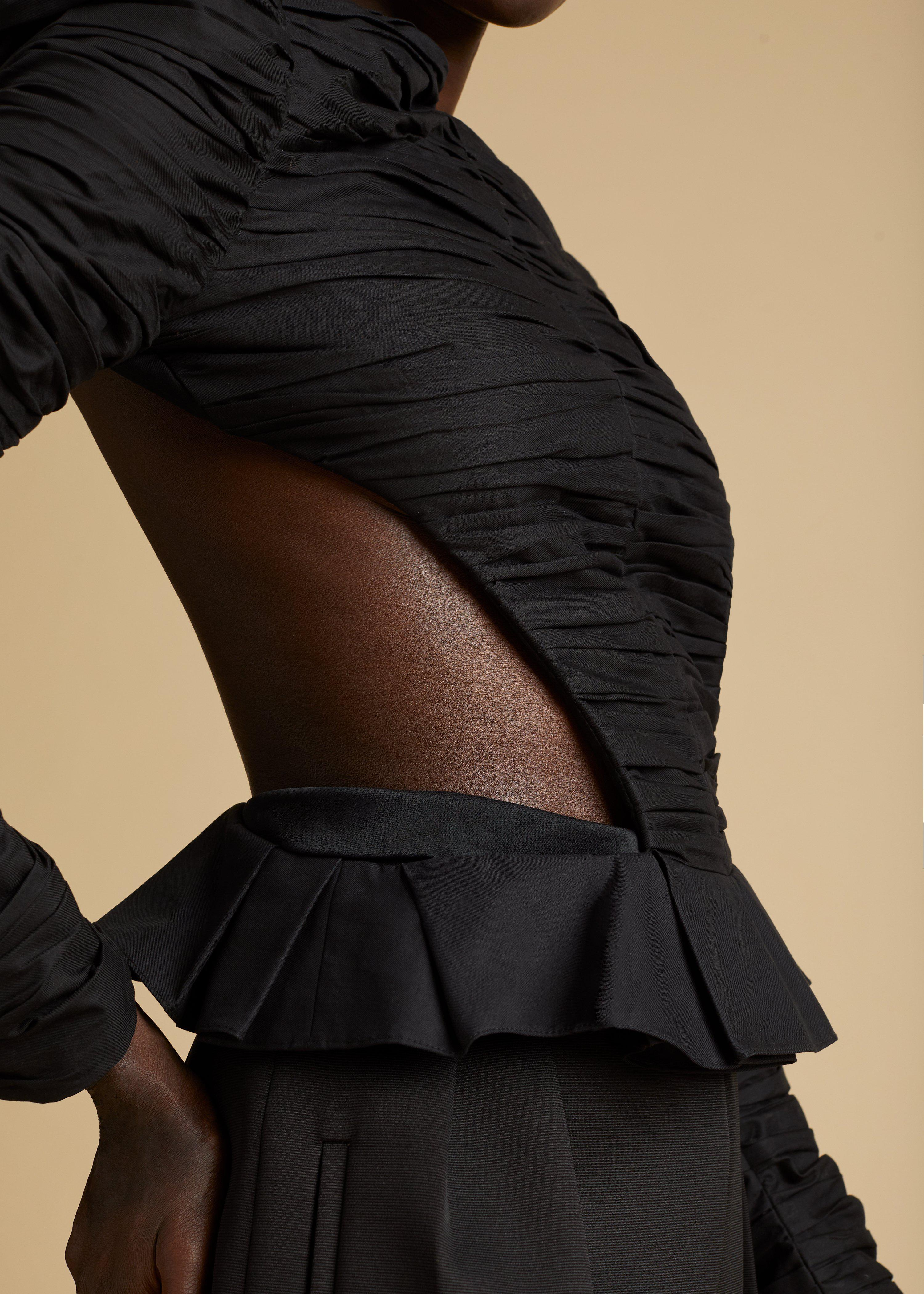 The Rosy Top in Black 9
