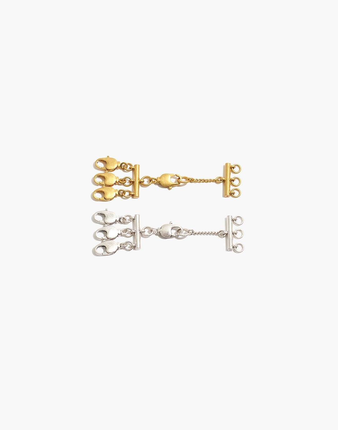 Two-Pack Necklace Layering Clasps