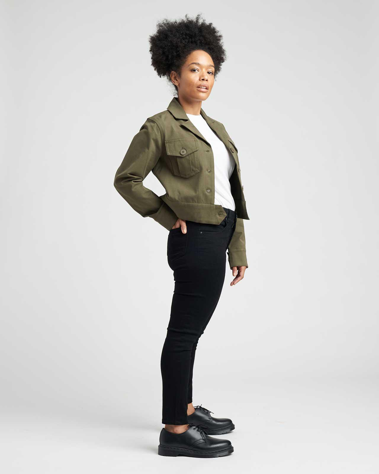 Chelsea Stretch Cotton Twill Jacket 2