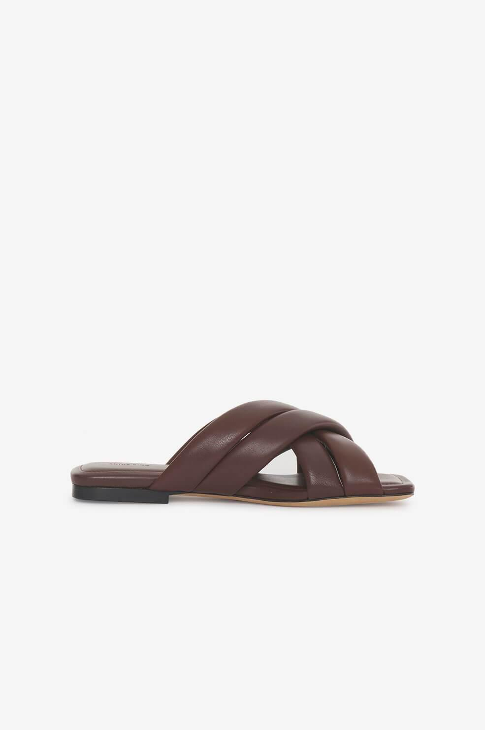 Eve Sandals - Chocolate Brown