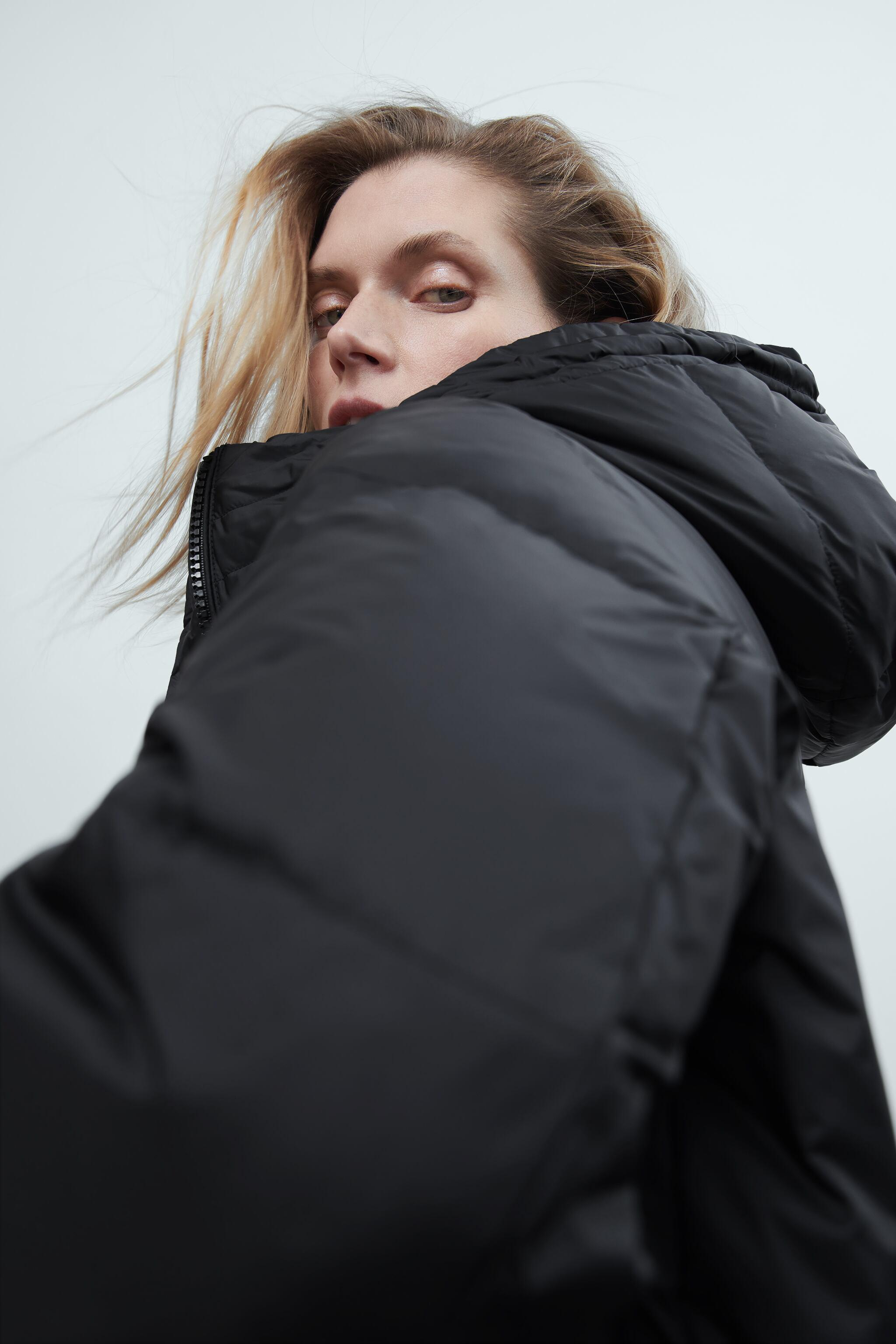 WATER AND WIND PROTECTION OVERSIZED DOWN COAT 4