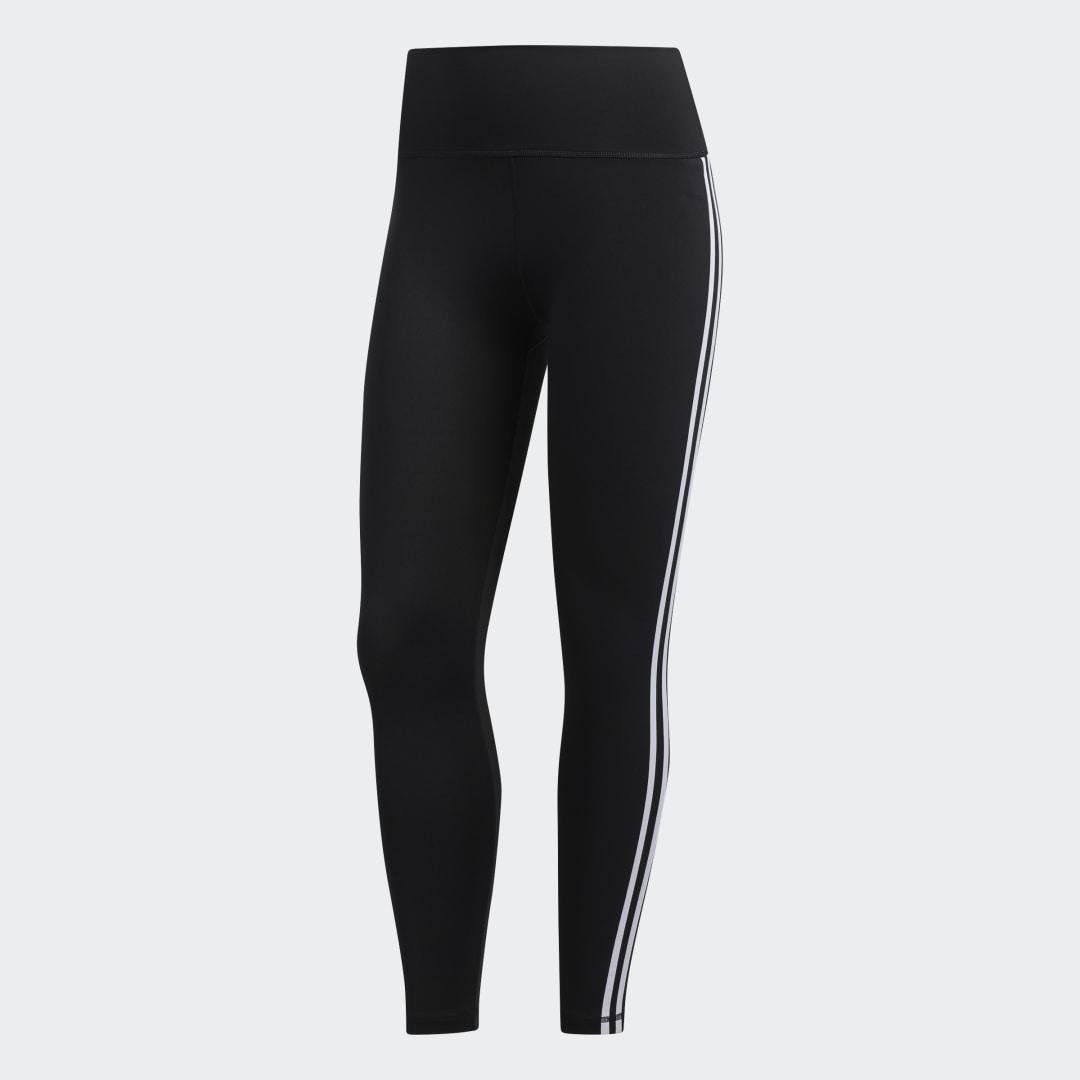 Believe This 2.0 3-Stripes 7/8 Tights Black 9