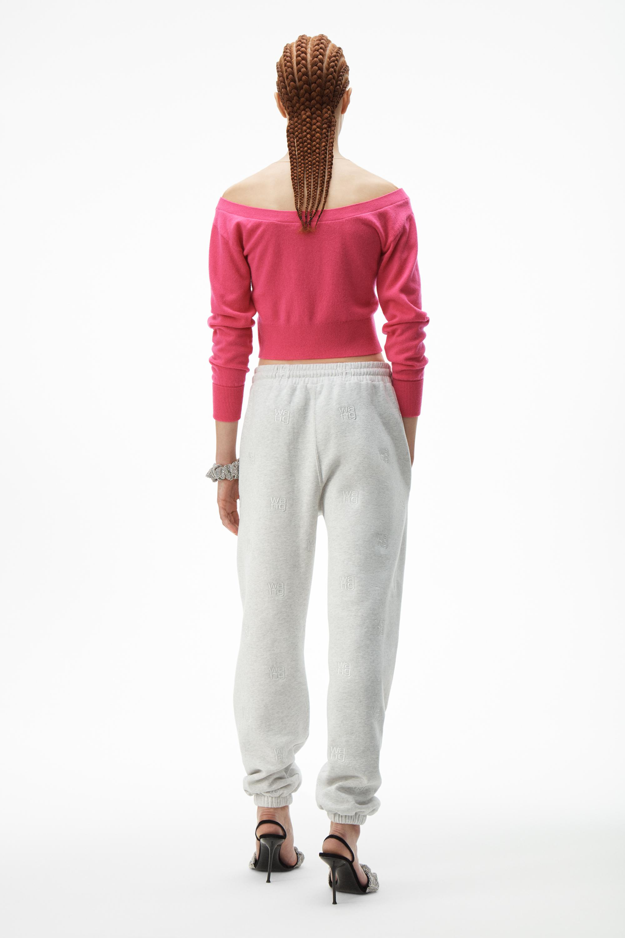 fitted cropped cardigan 3