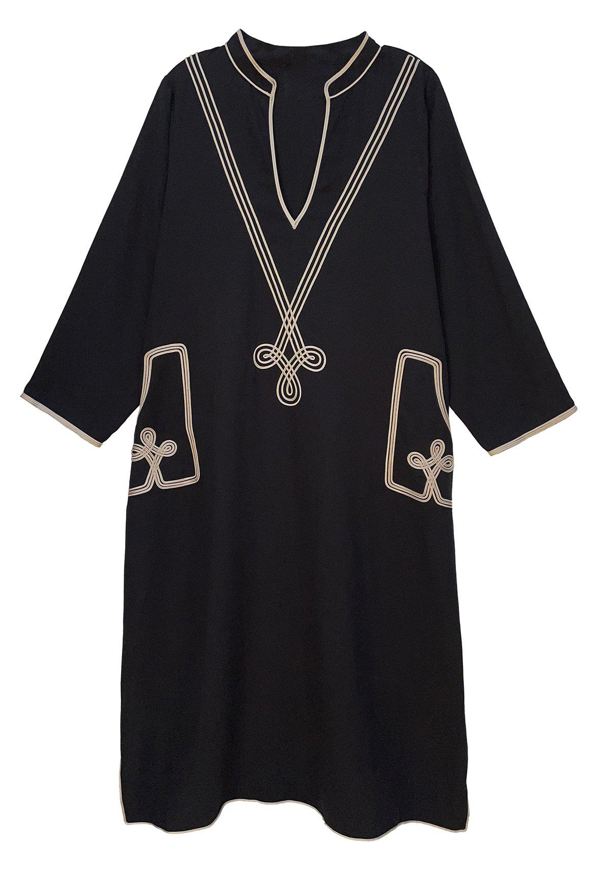 The Marrakesh - Embroidered Dress 0