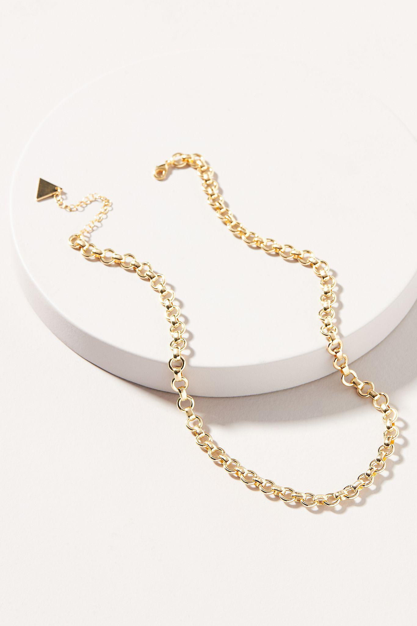 Lyra Chain Necklace