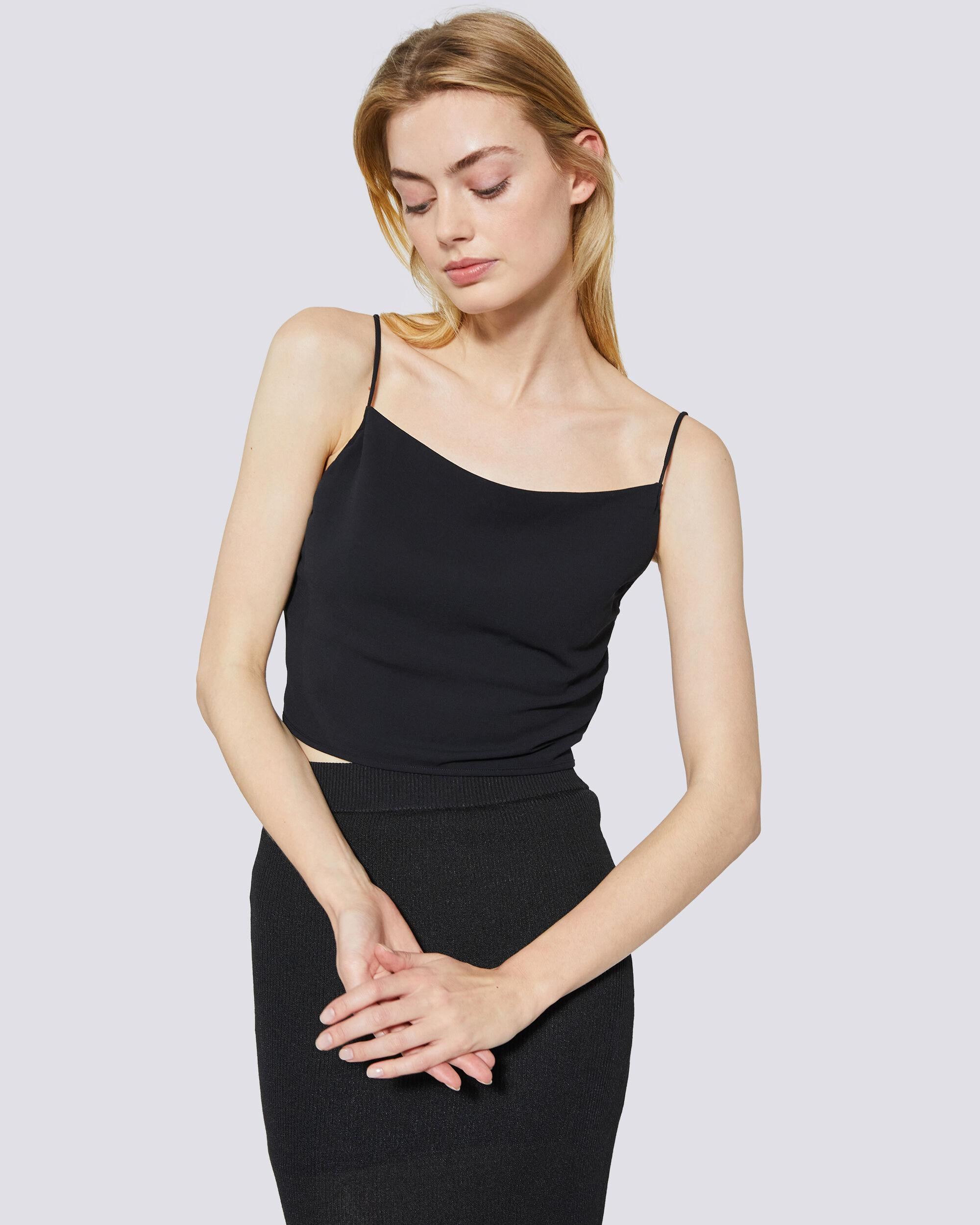 LUNE CROPPED TIE-BACK CAMISOLE 4