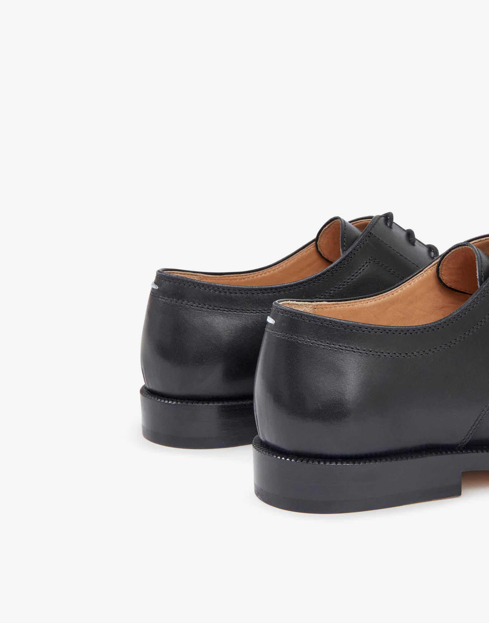 Tabi lace-up shoes 3