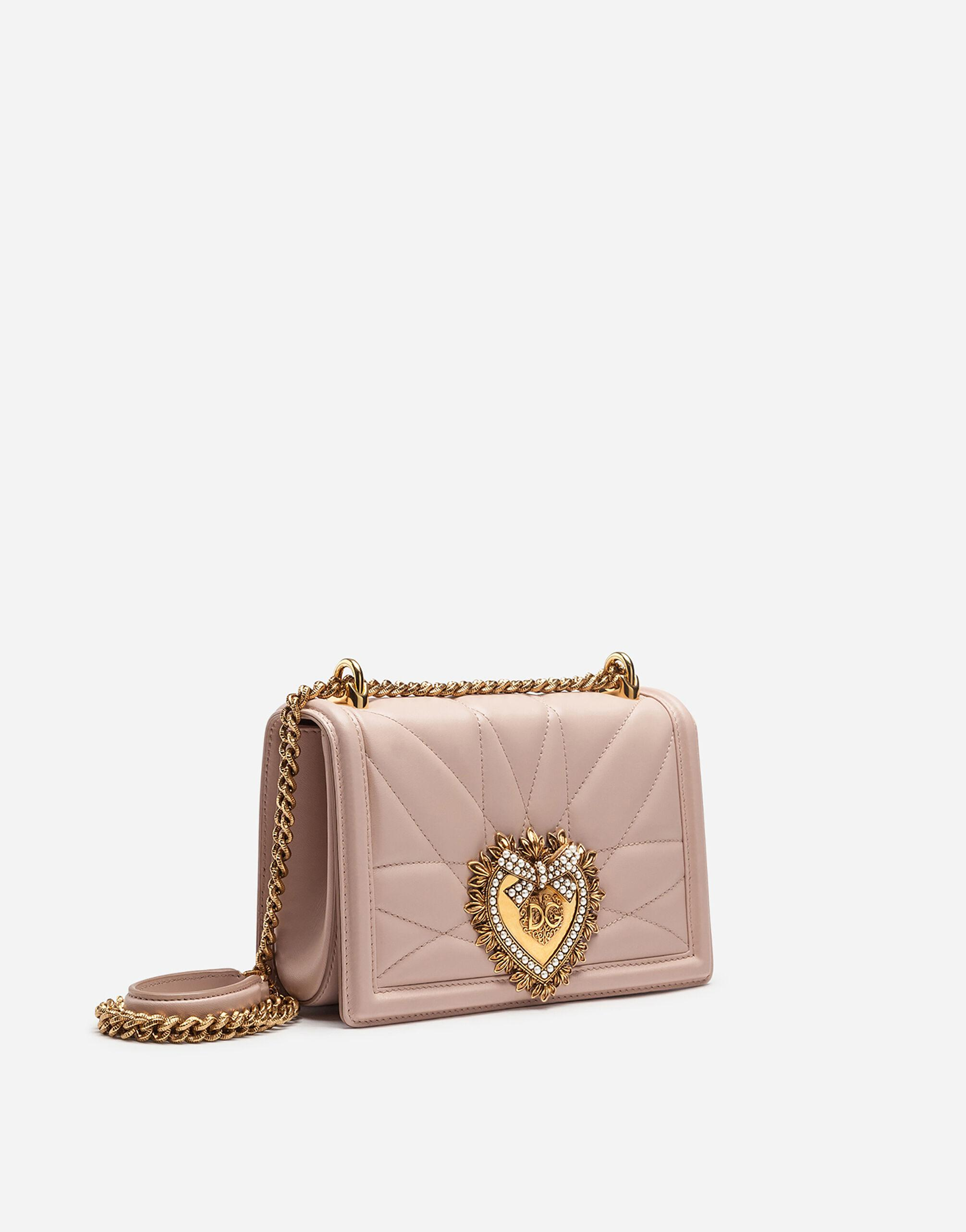 Medium Devotion bag in quilted nappa leather 1