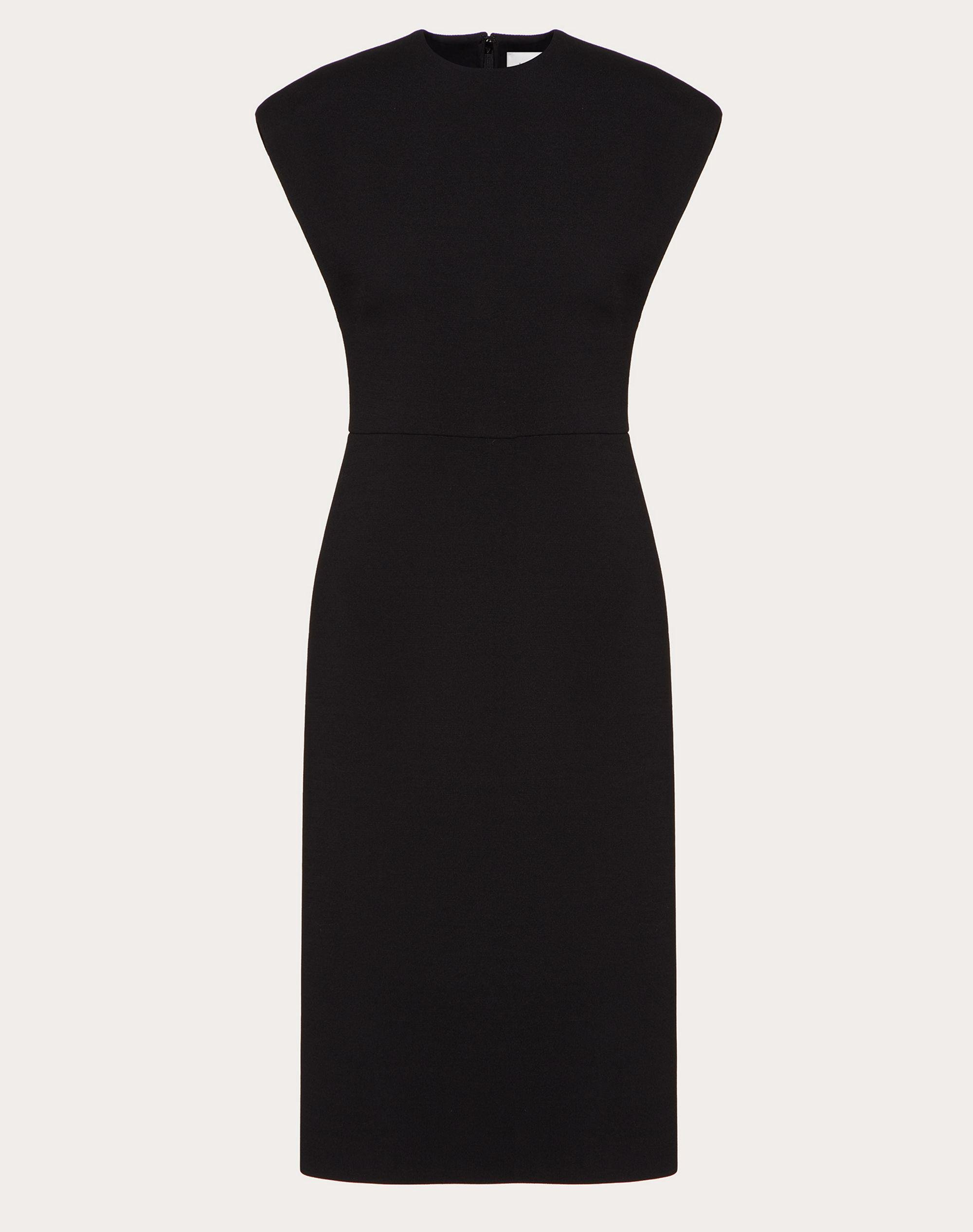 STRETCH CREPE COUTURE DRESS 4