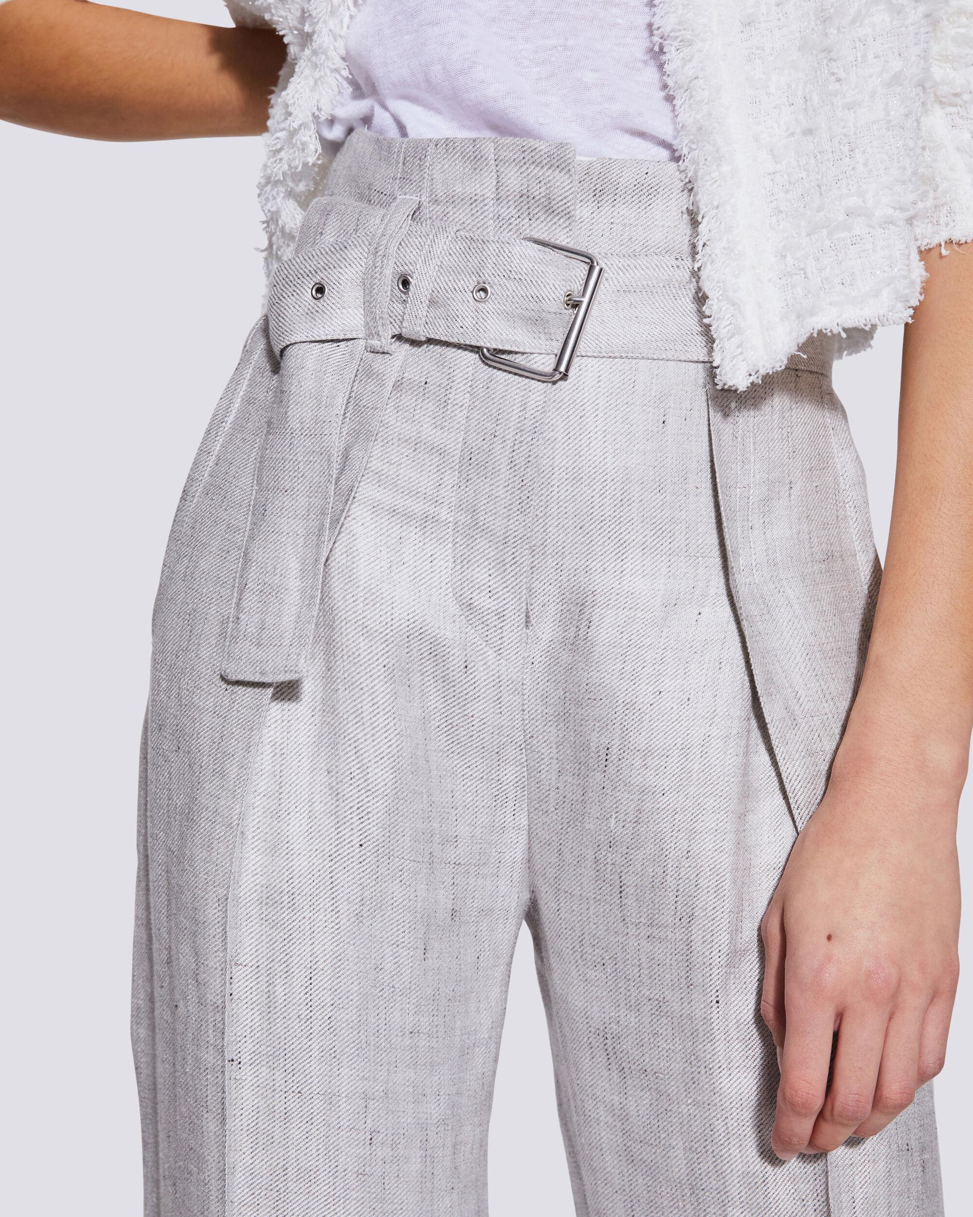 NAJAVA BELTED HIGH WAIST TROUSERS 3