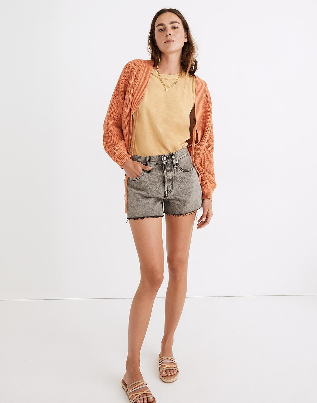 Relaxed Denim Shorts in Noll Wash
