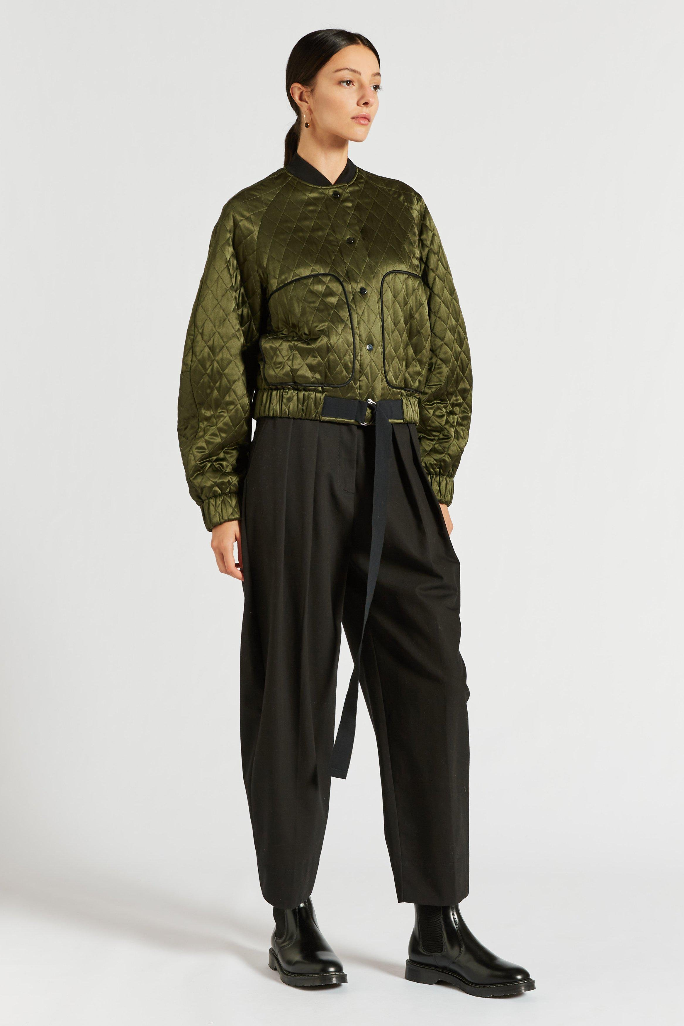 Carnarby Quilted Bomber