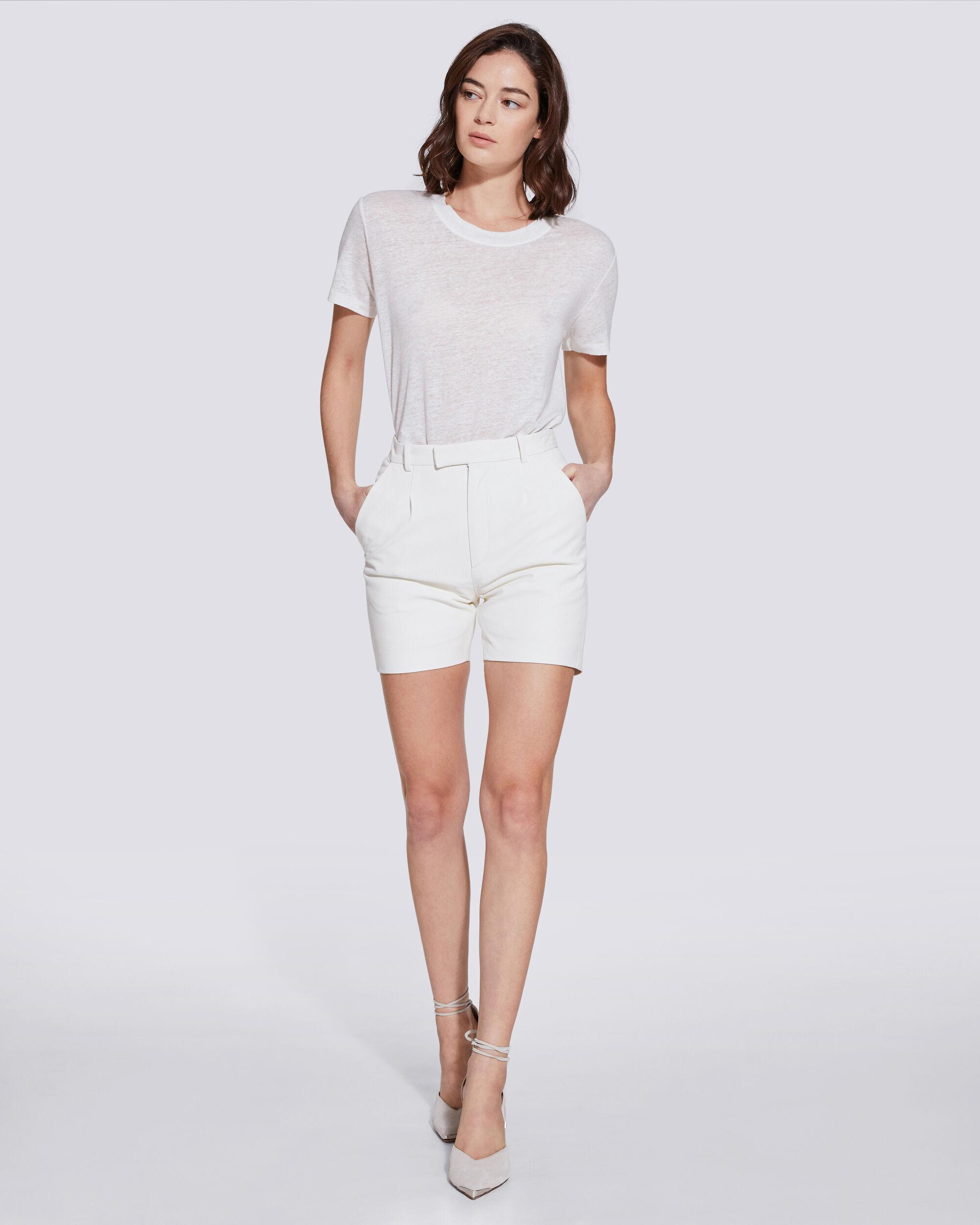 KLEIST MID LENGTH LEATHER SHORTS