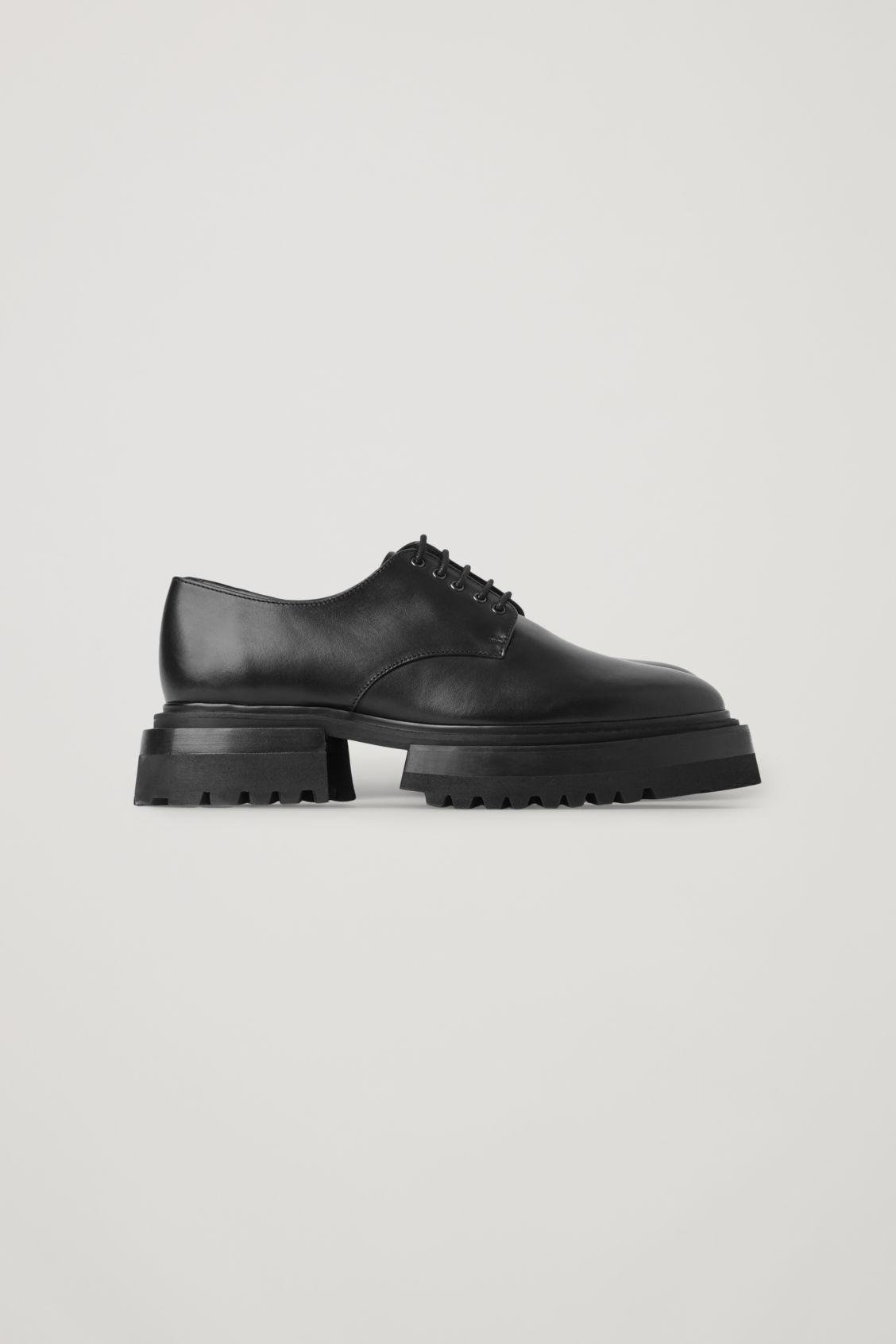 CHUNKY DERBY SHOES 4