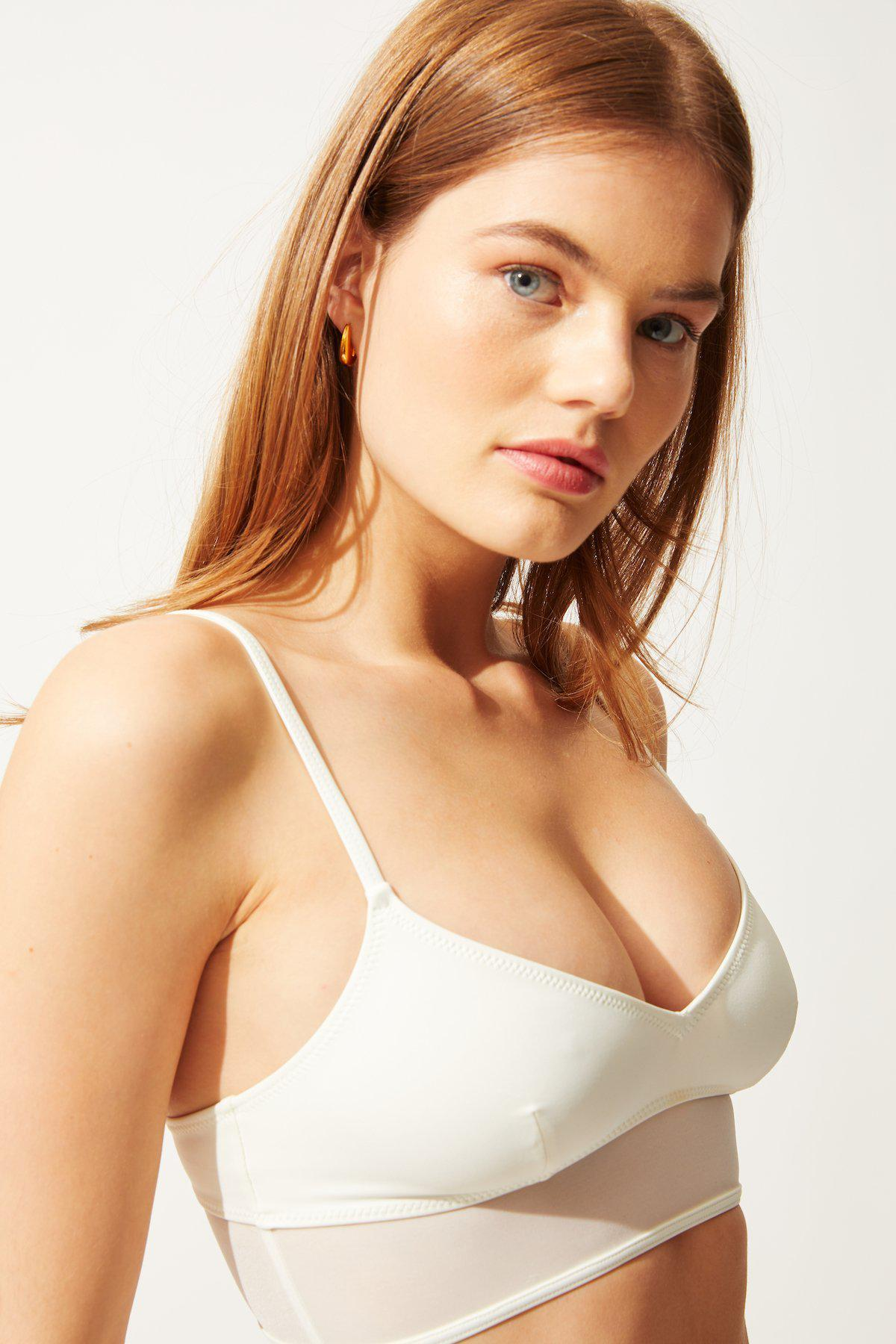 The Brigitte with Mesh Top