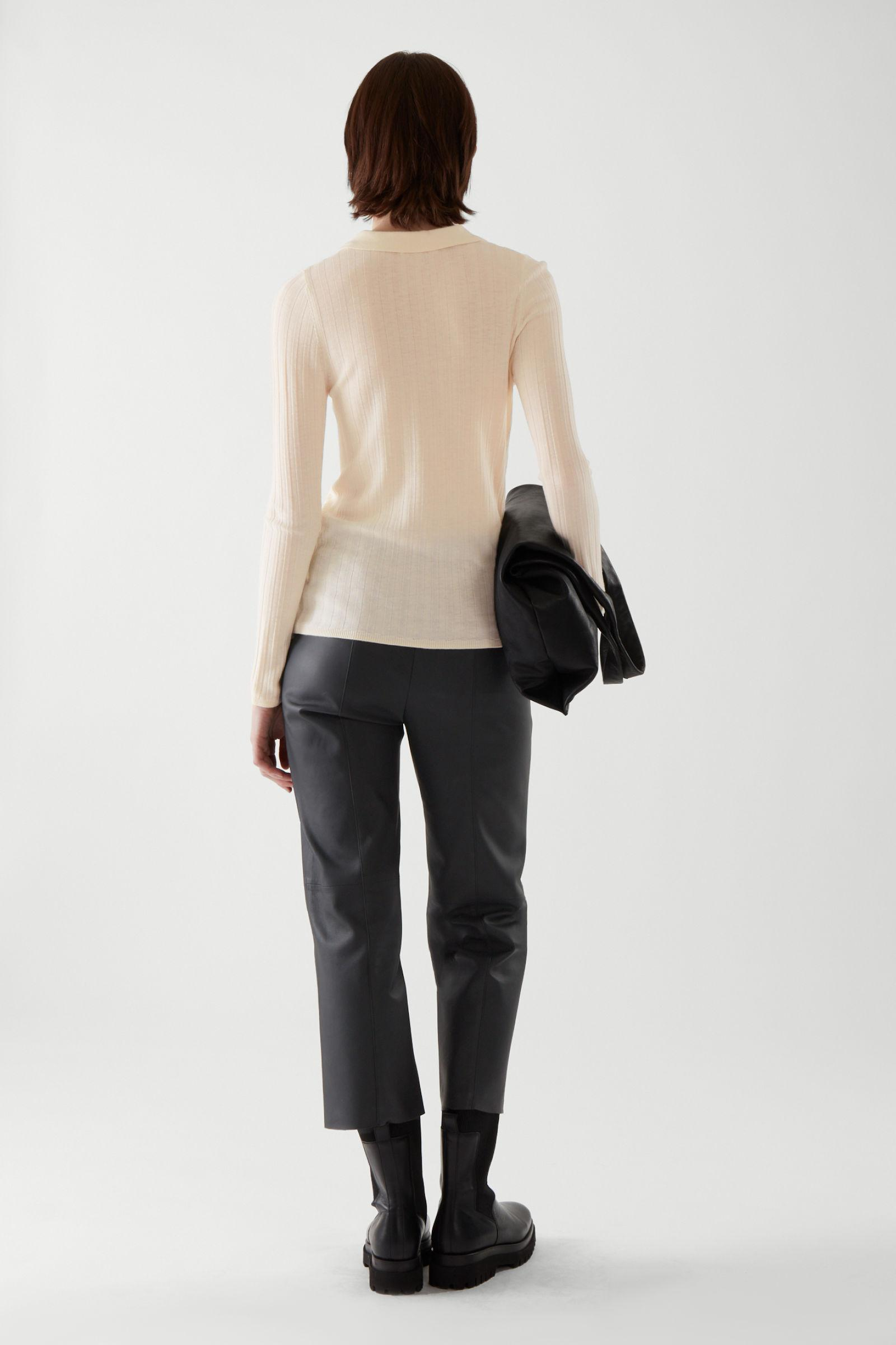 MERINO WOOL TRANSPARENT KNITTED TOP 4