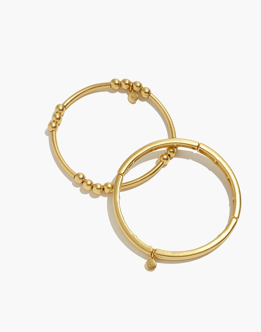 Two-Pack Stretch Bangle Set
