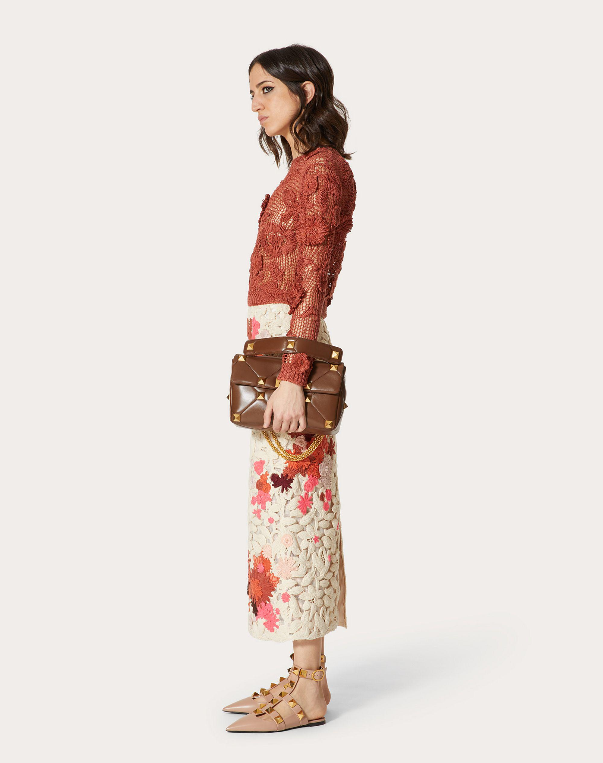 EMBROIDERED LINEN SWEATER 0