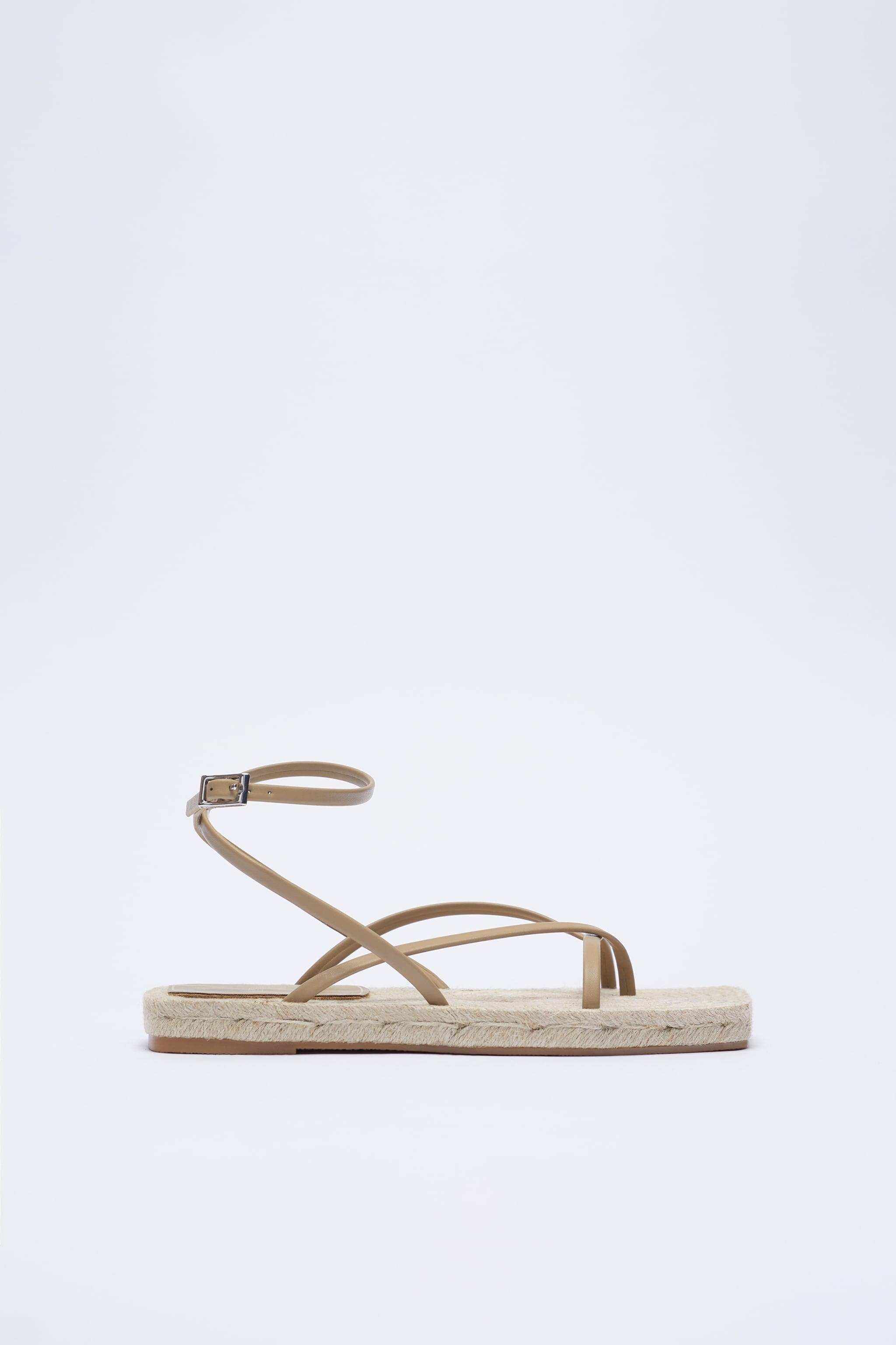 CHUNKY STRAPPY JUTE SANDALS