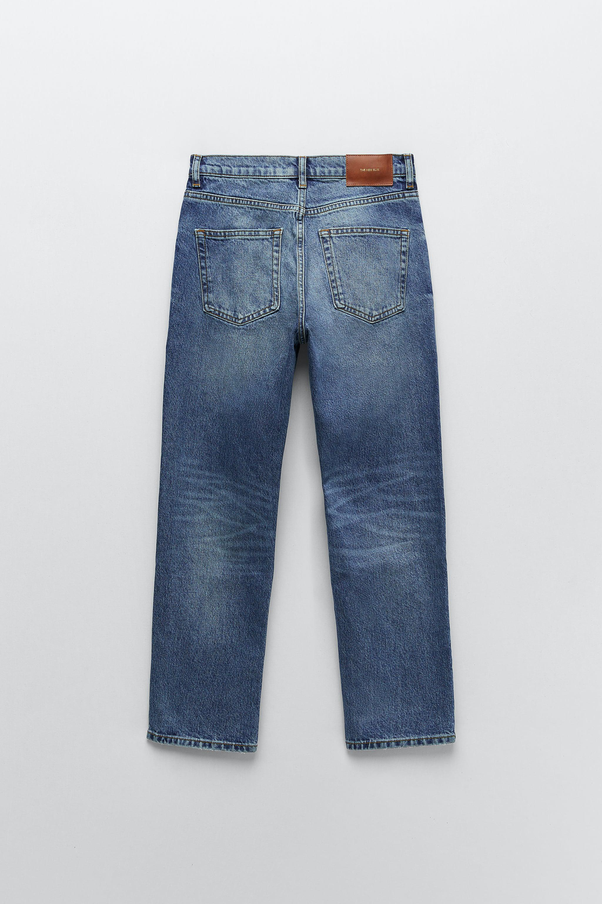 ZW THE NEW SLIM CROPPED JEANS 4