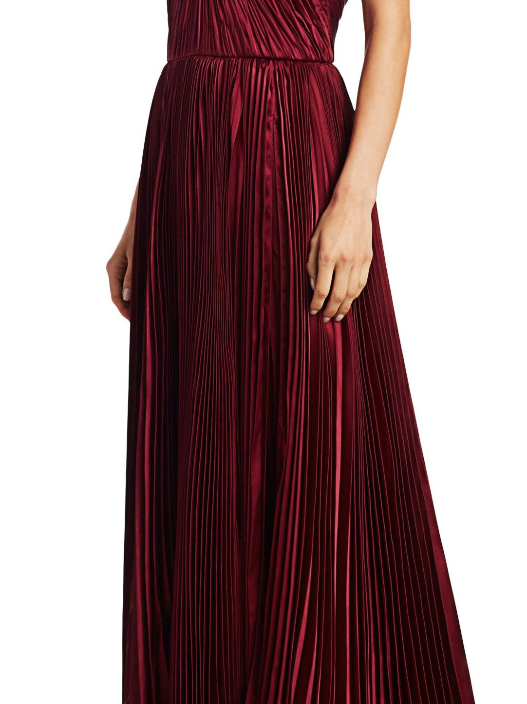 PLEATED TIERED GOWN 2