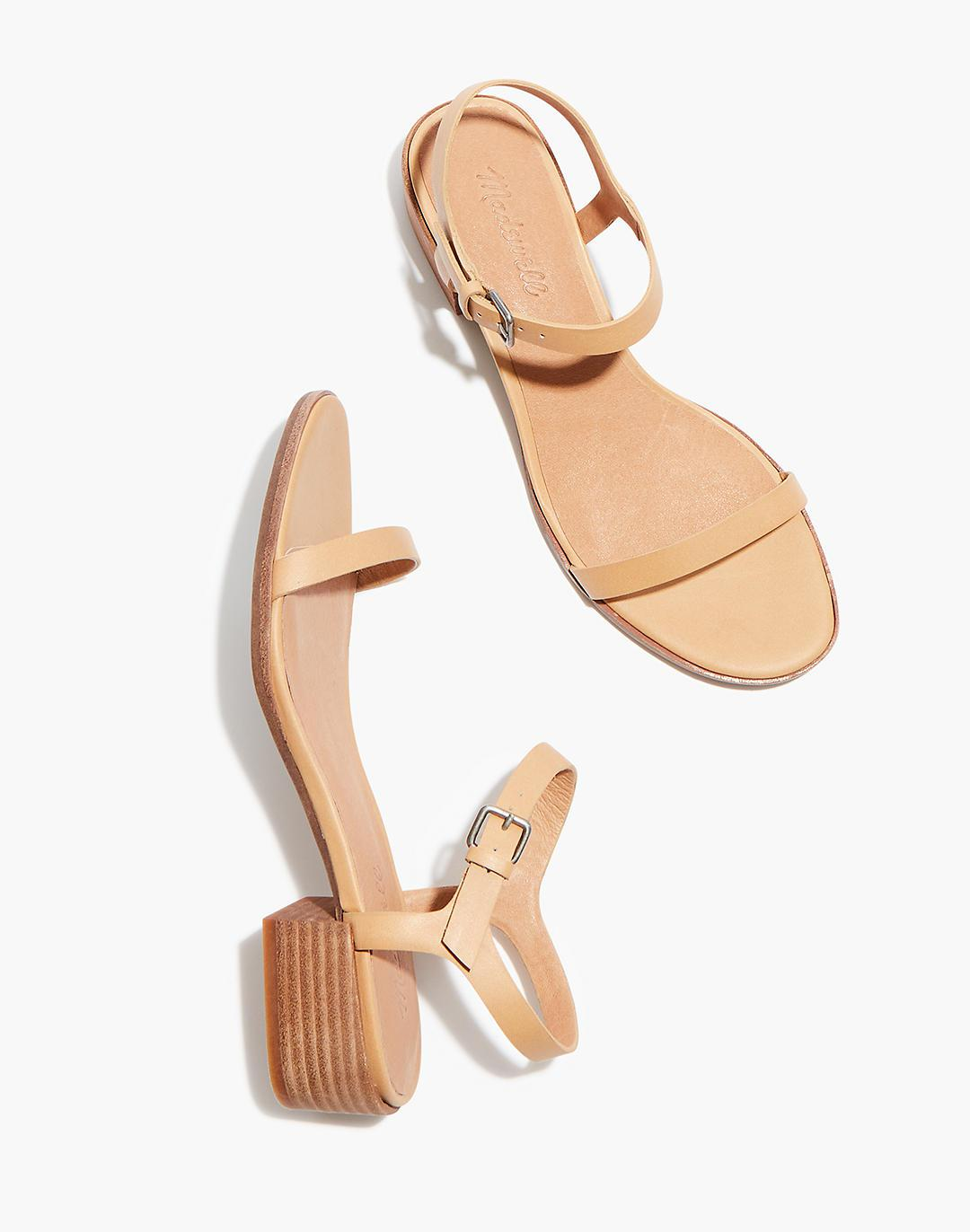 The Louise Sandal in Leather