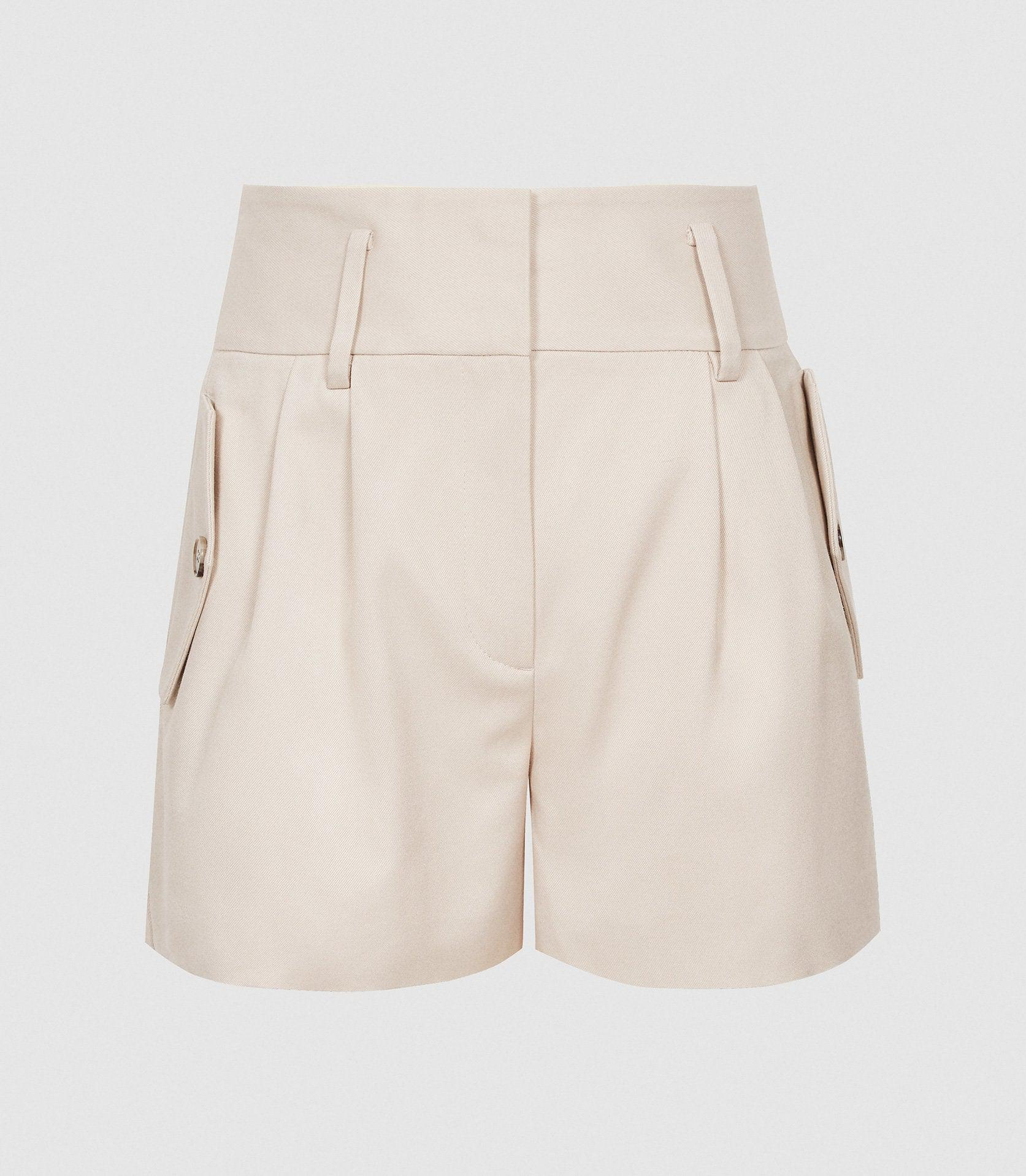 BROOKLYN - POCKET FRONT TAILORED SHORTS 5