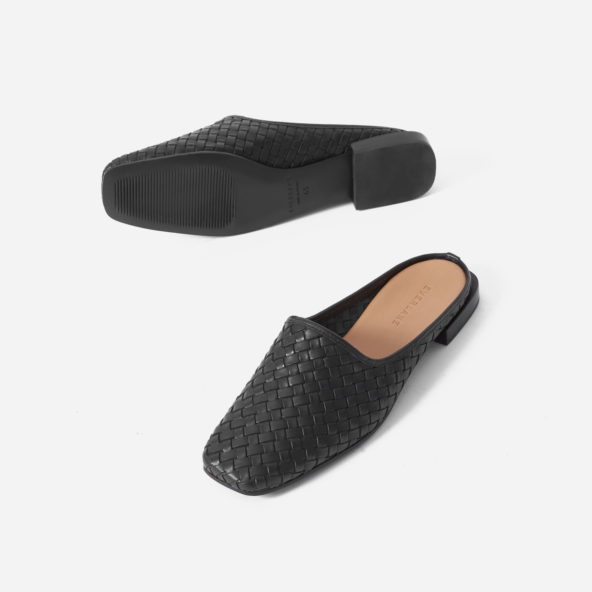The Woven Leather Mule 2