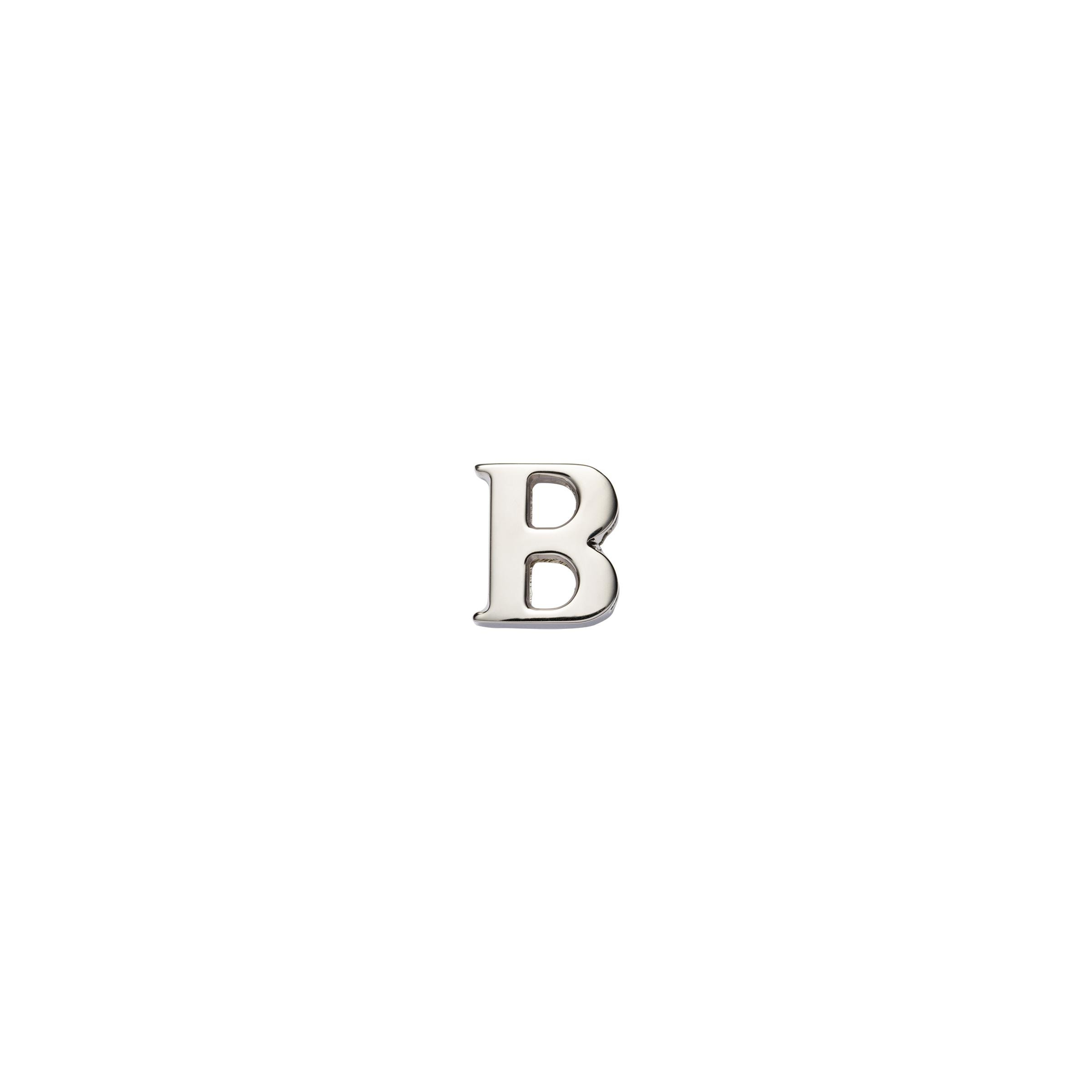 My Character Sliding Metal Letter Women Polished Steel