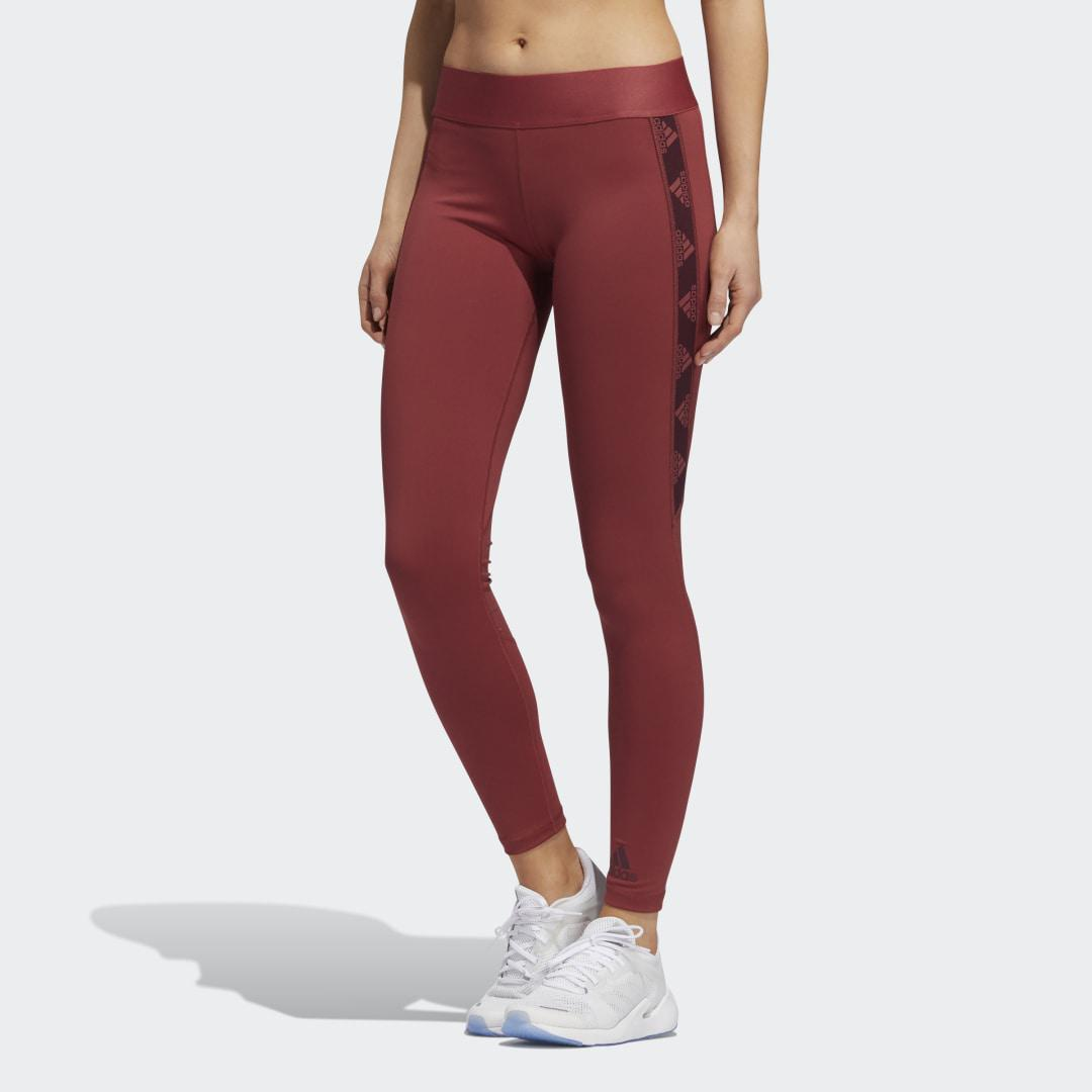Alphaskin Badge of Sport Tights Legacy Red