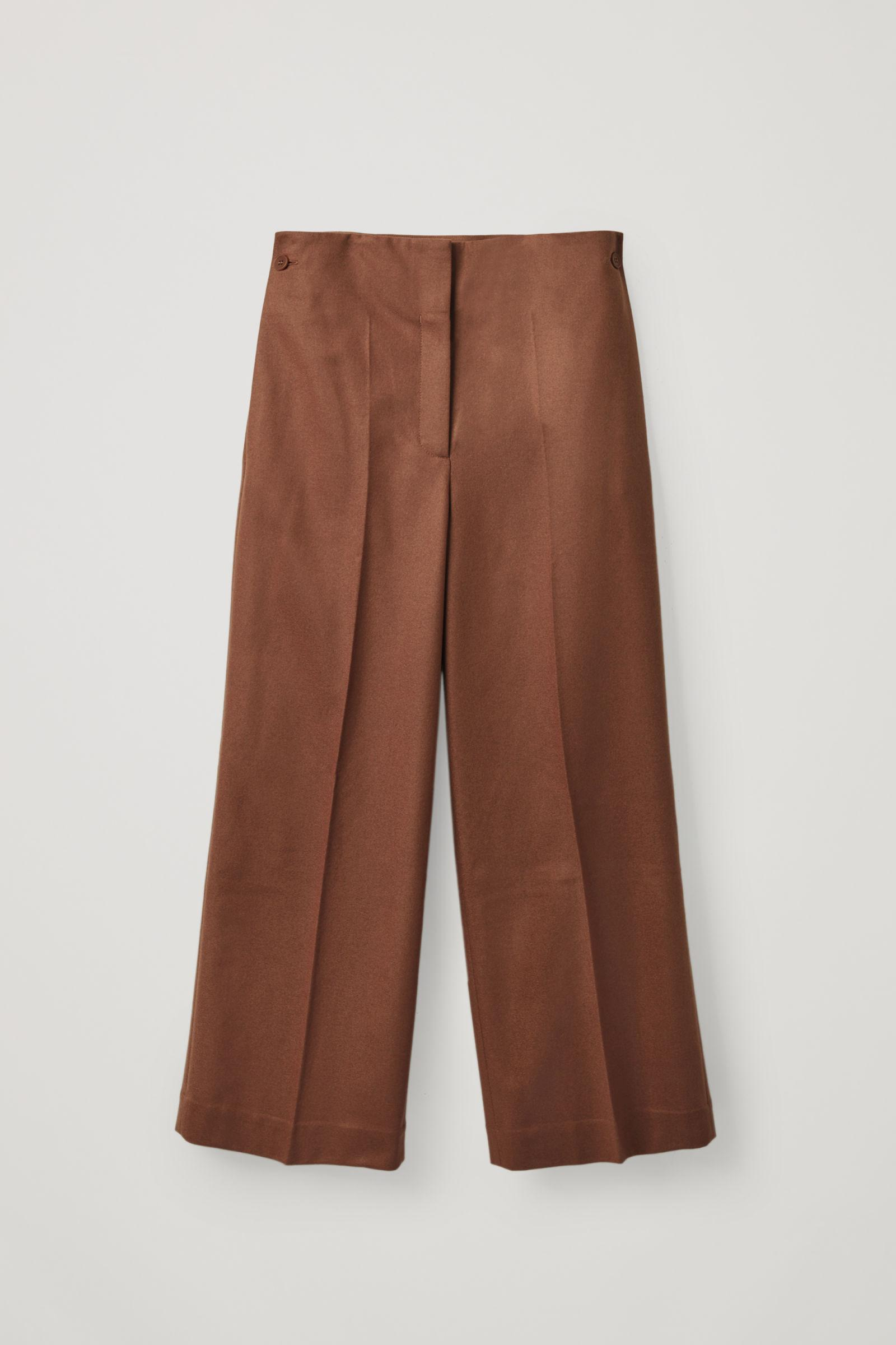 WOOL-CASHMERE TAILORED PANTS 5