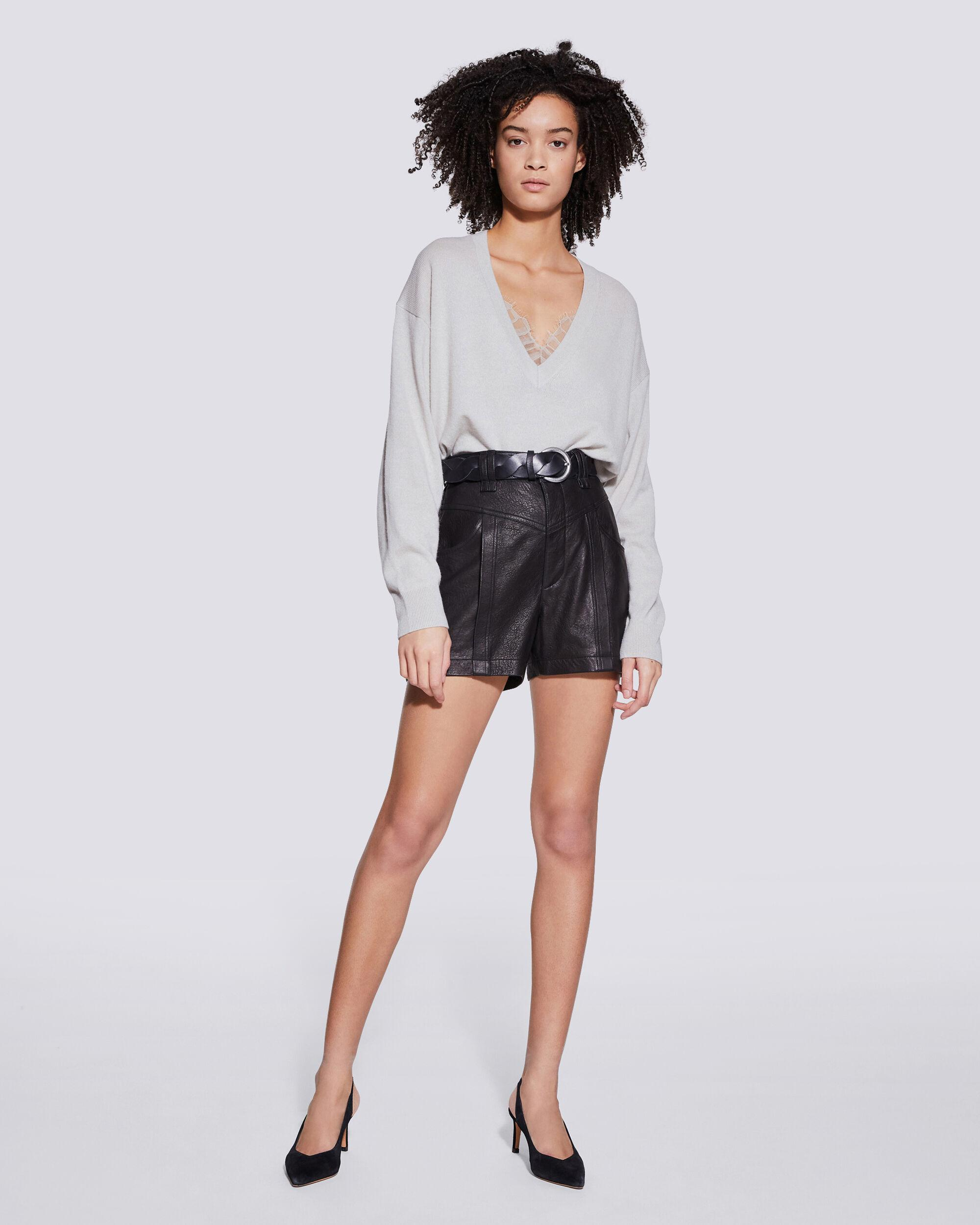 TORITHA COTTON AND CASHMERE SWEATER 1