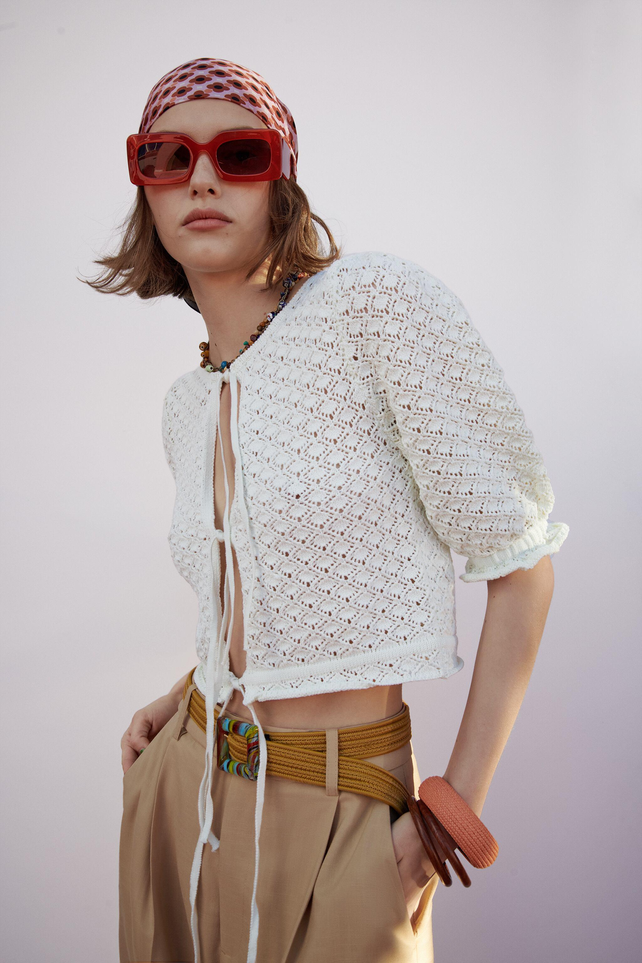 POINTELLE KNIT TOP 3