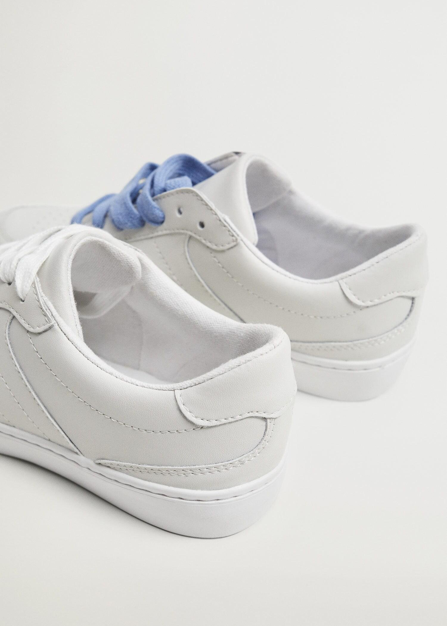 Lace-up leather sneakers 1