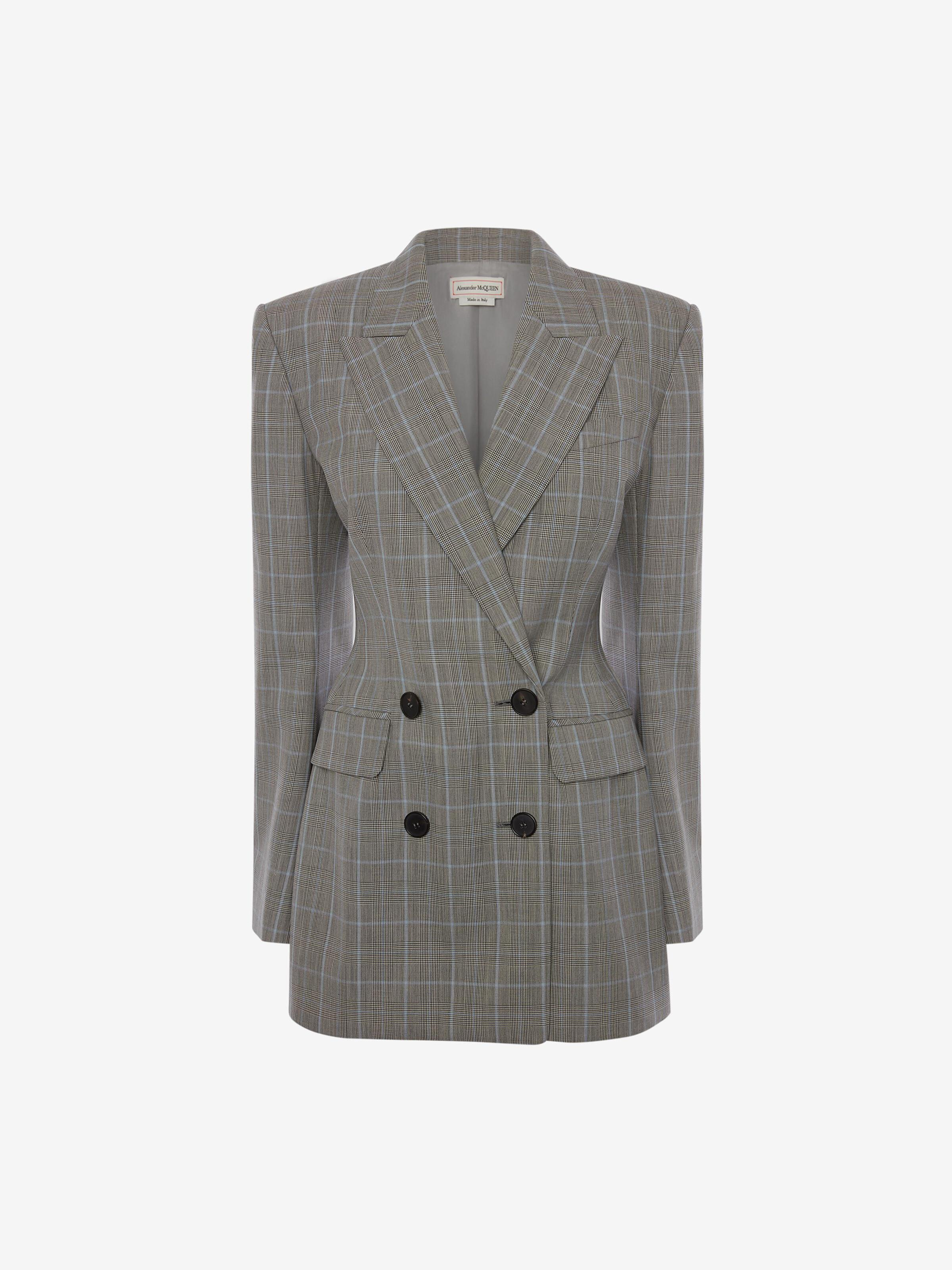 Double-Breasted Prince of Wales Jacket 3