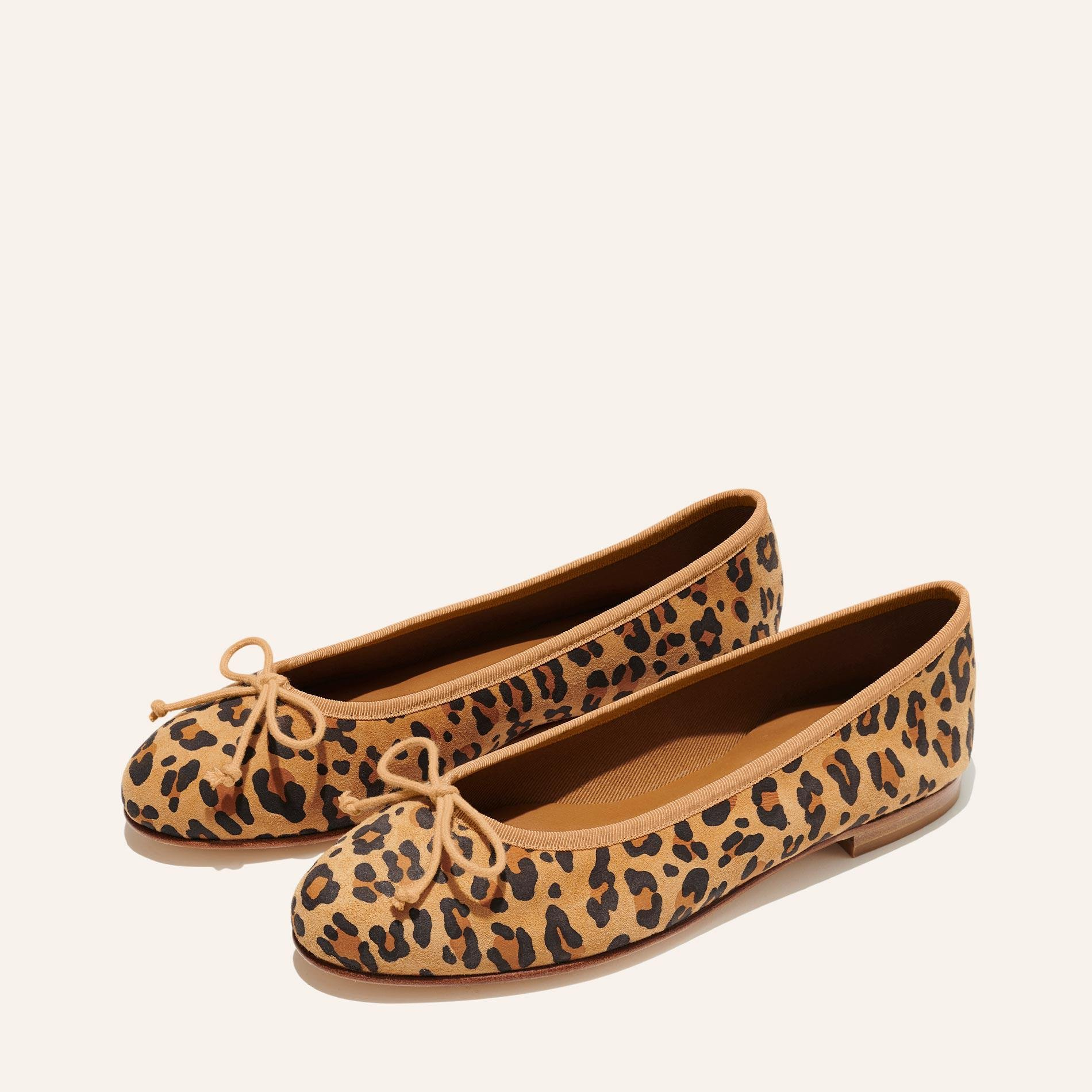 The Demi - Leopard Suede