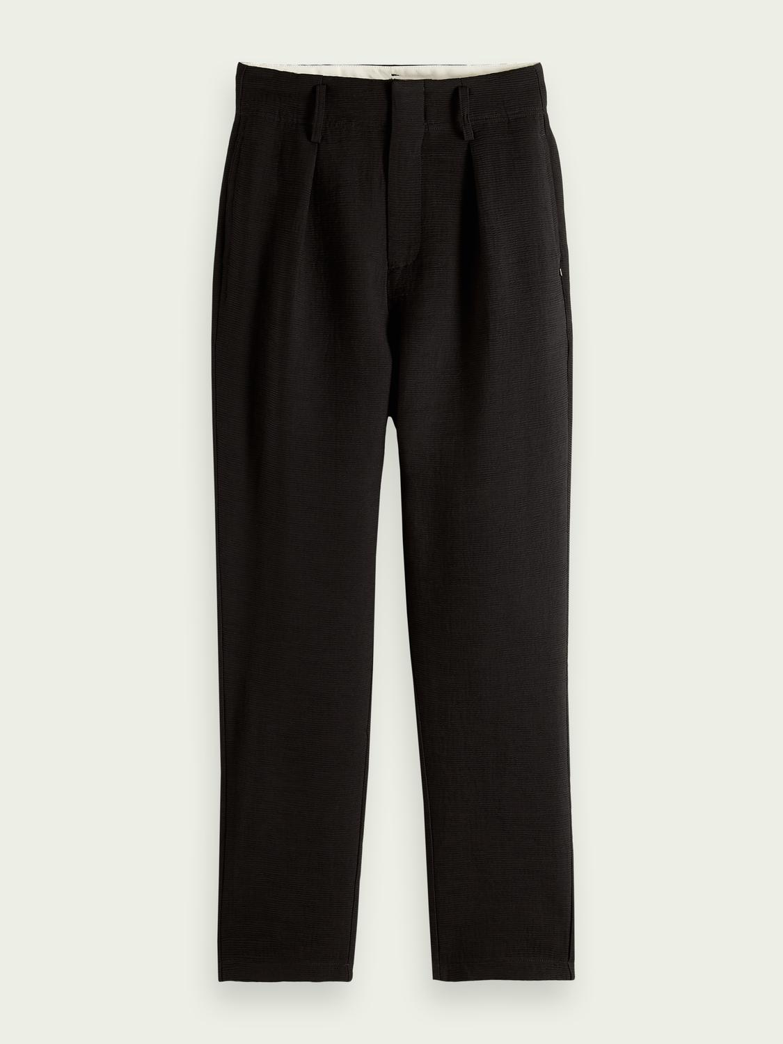 High rise tapered trousers 5