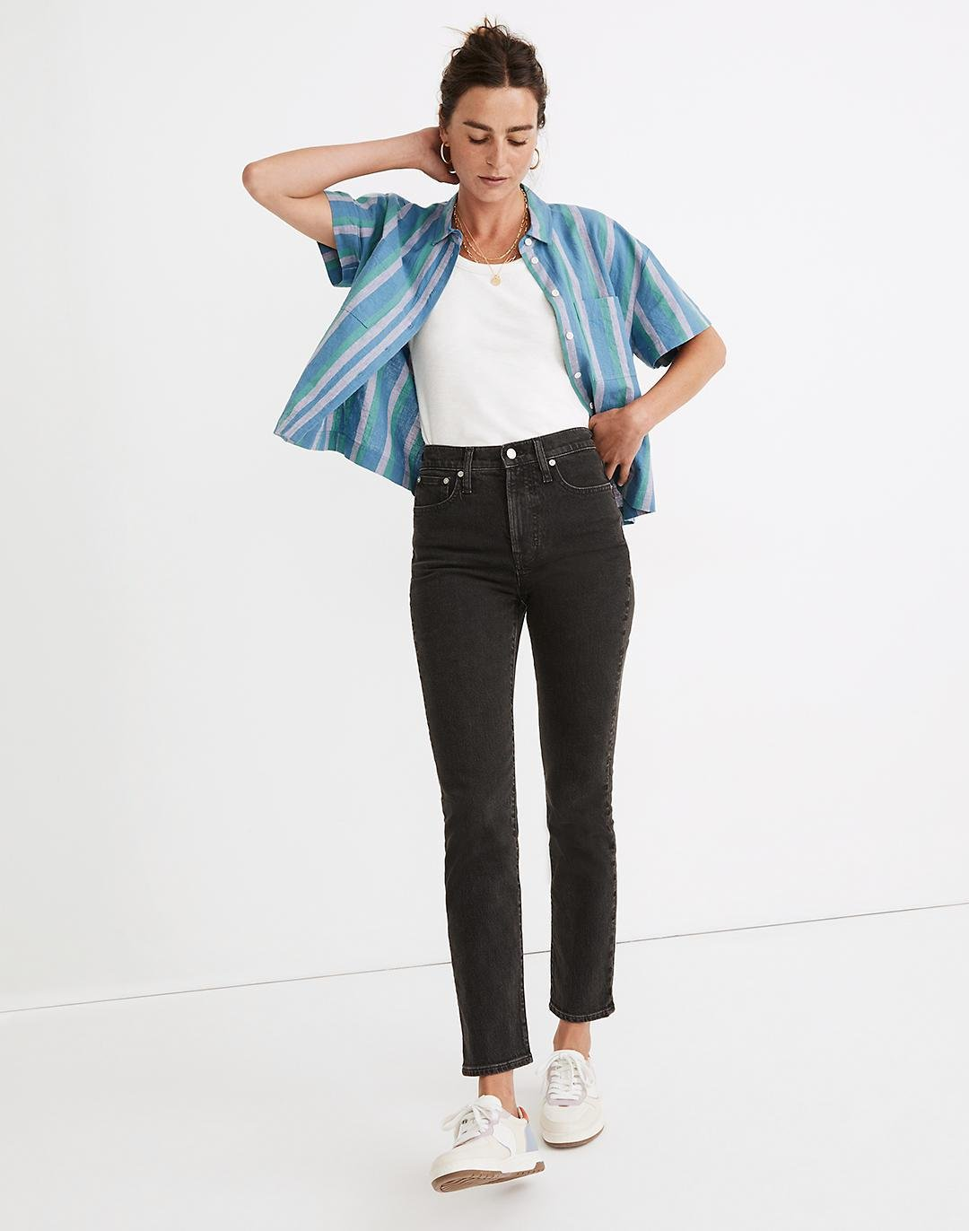 The Perfect Vintage Jean in Lunar Wash