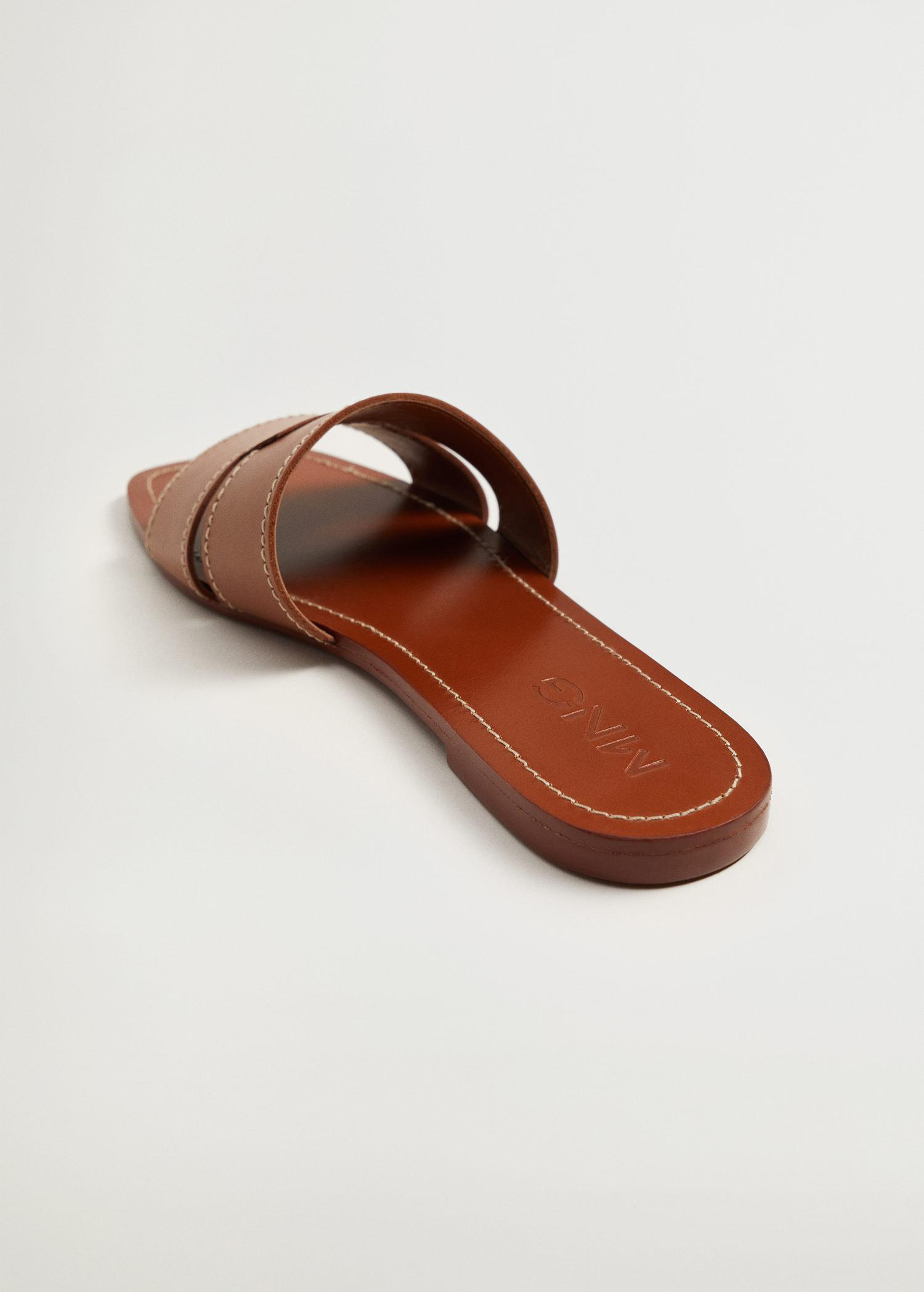 Leather straps sandals 2