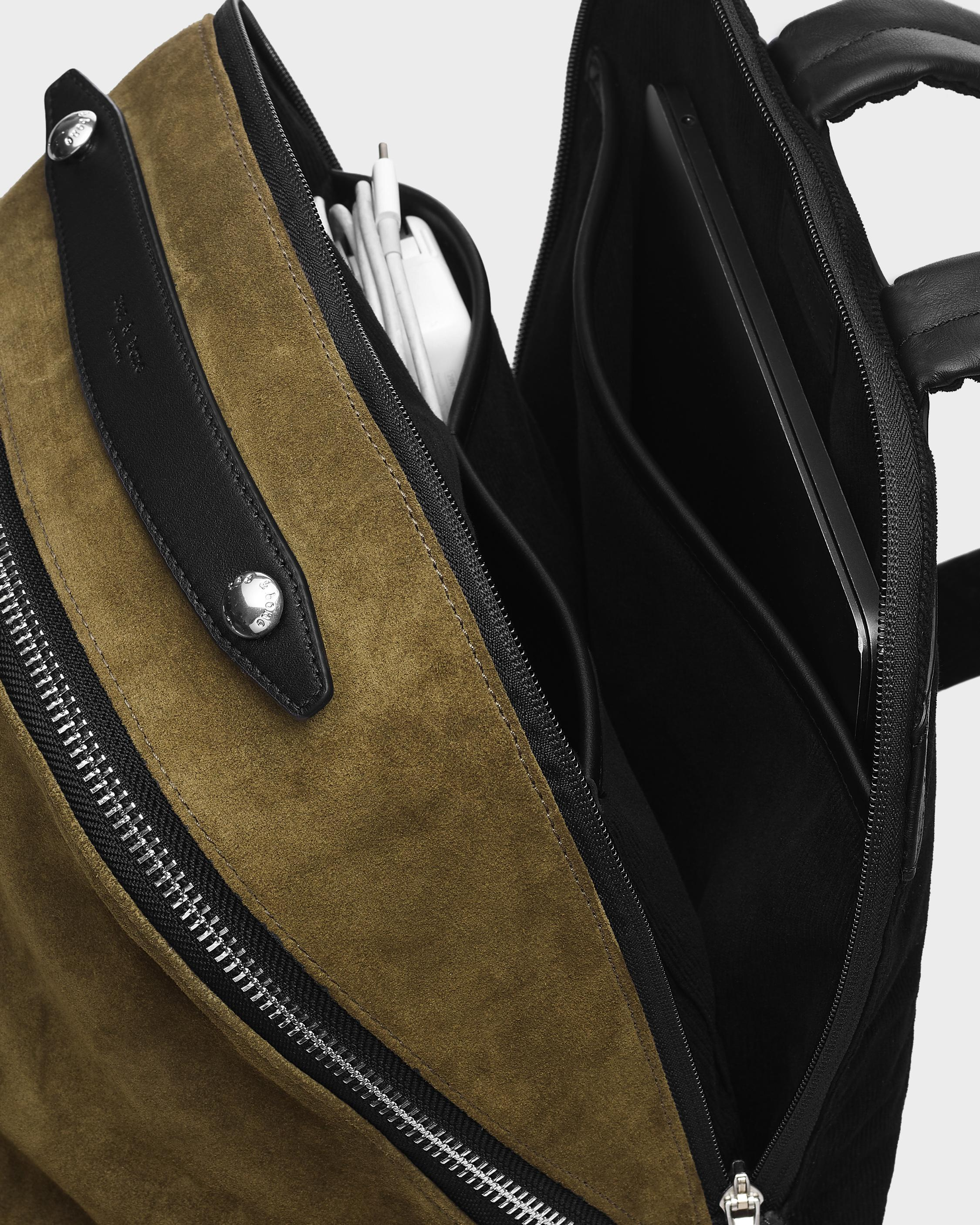 Commuter backpack - suede 2