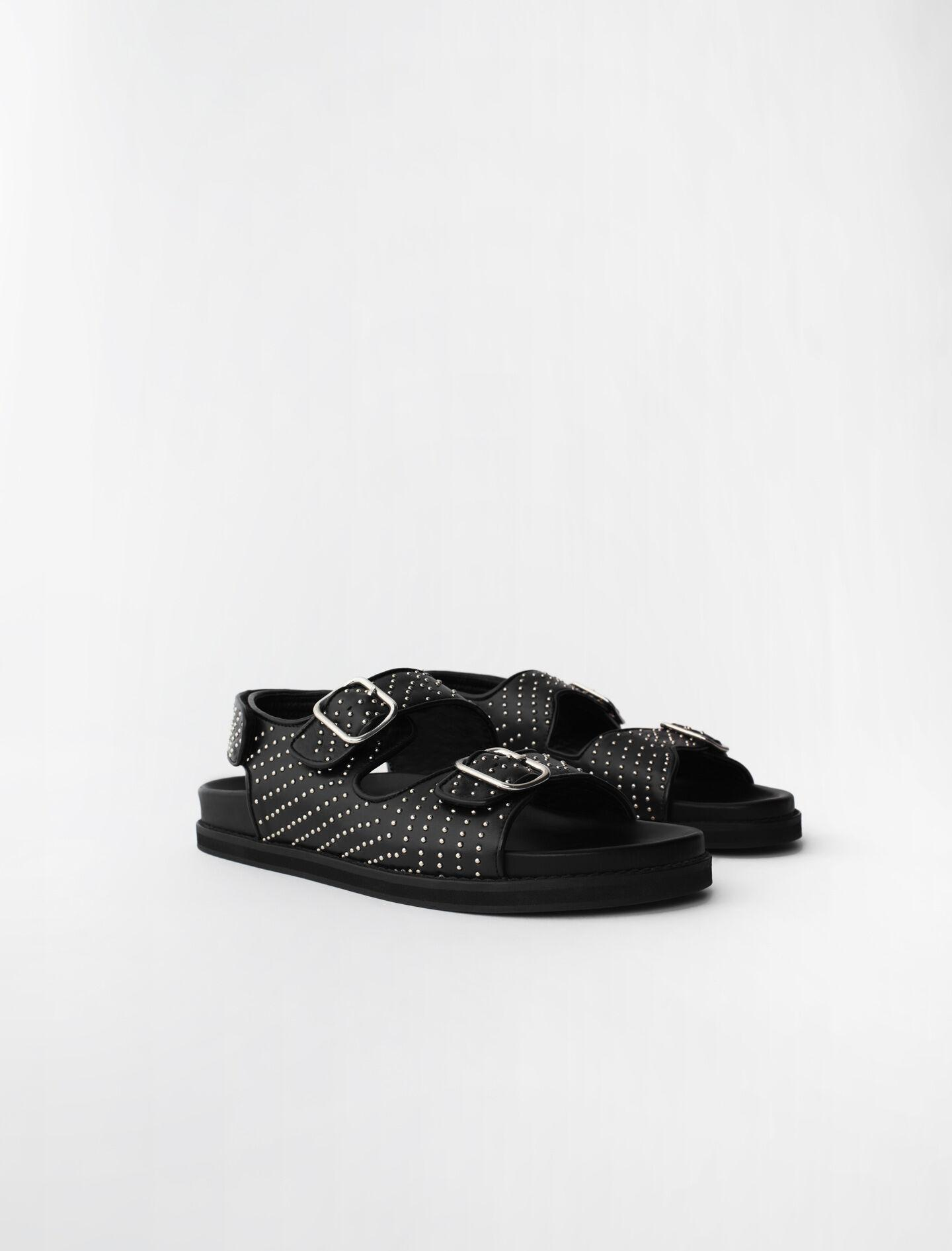STUDDED SANDALS WITH BUCKLES 1