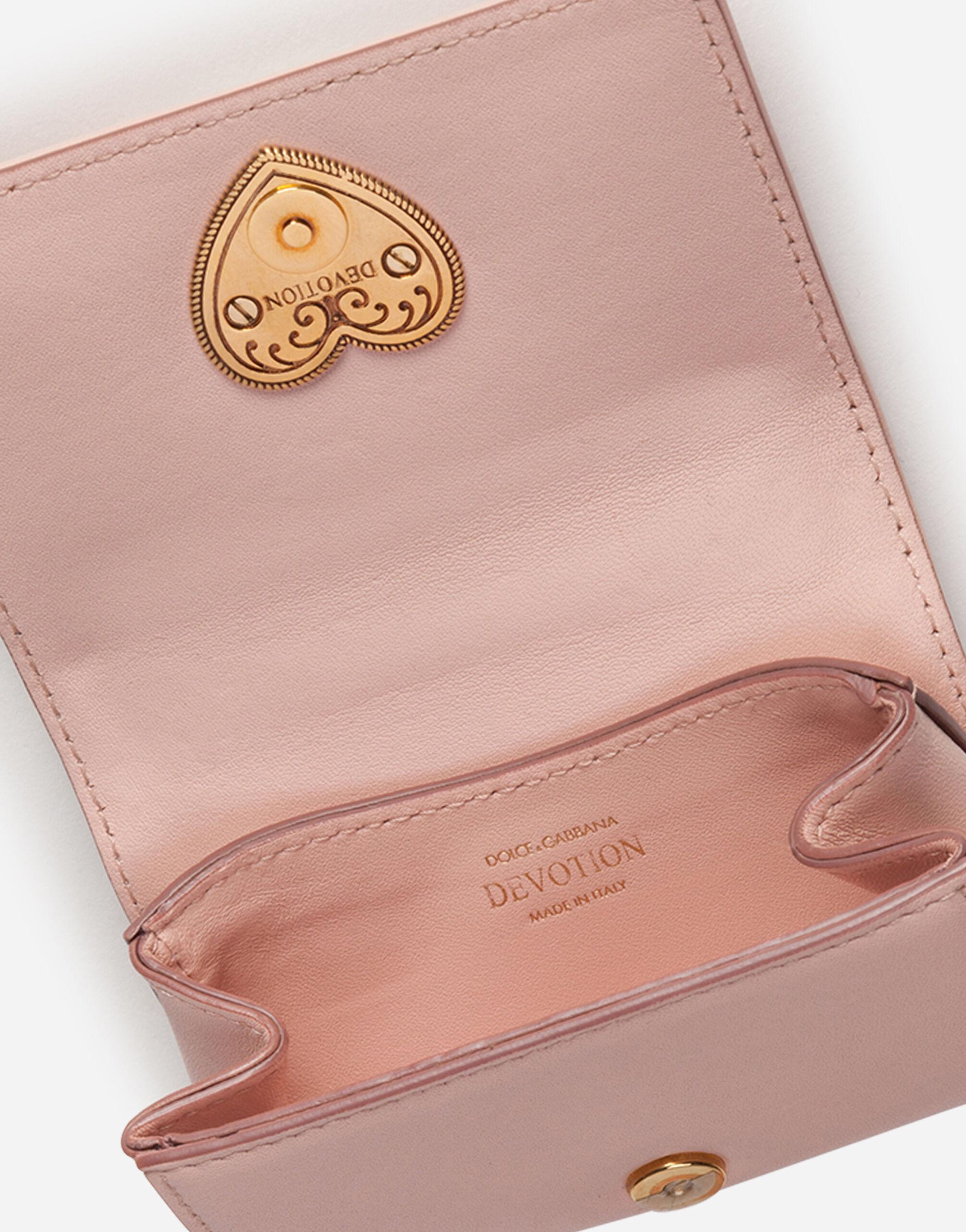 Devotion micro bag in quilted nappa leather 3