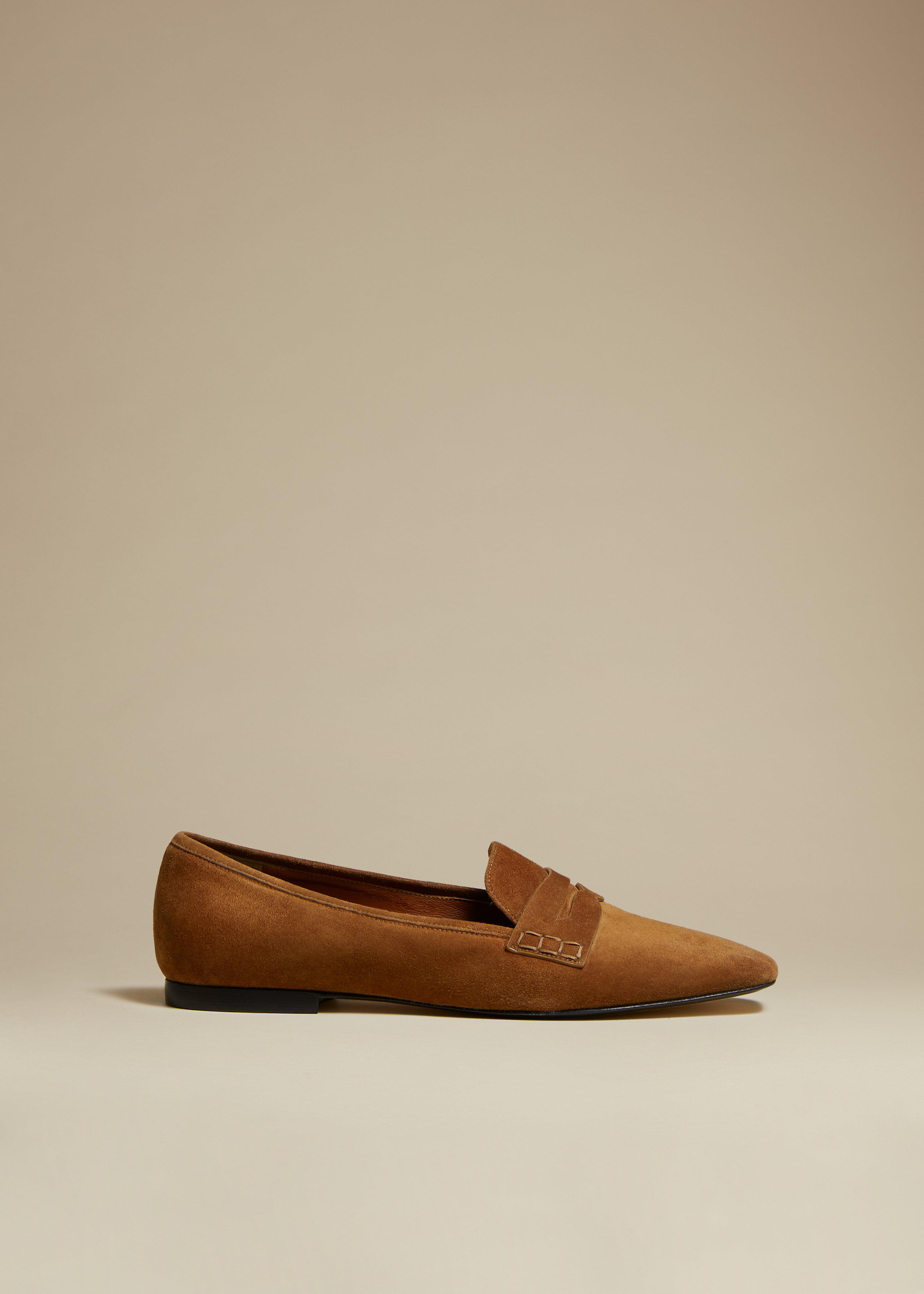 The Carlisle Loafer in Caramel Suede