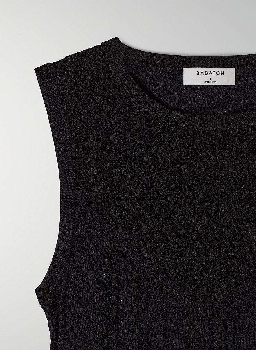 Pointelle Cropped Tank 4