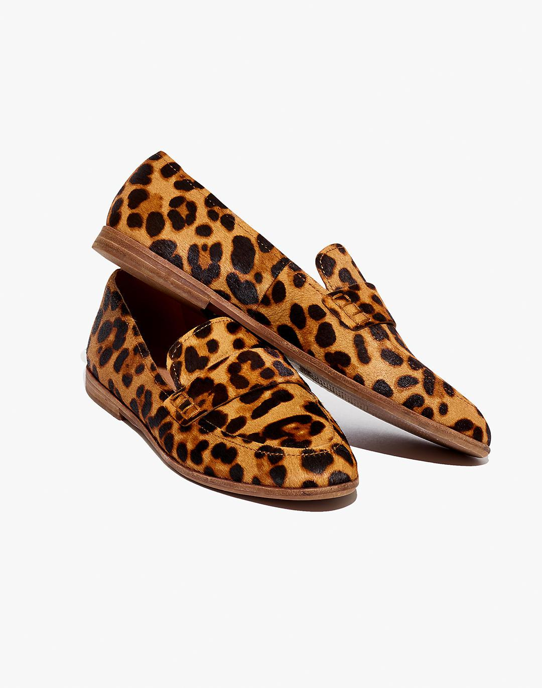 The Alex Loafer in Leopard Calf Hair