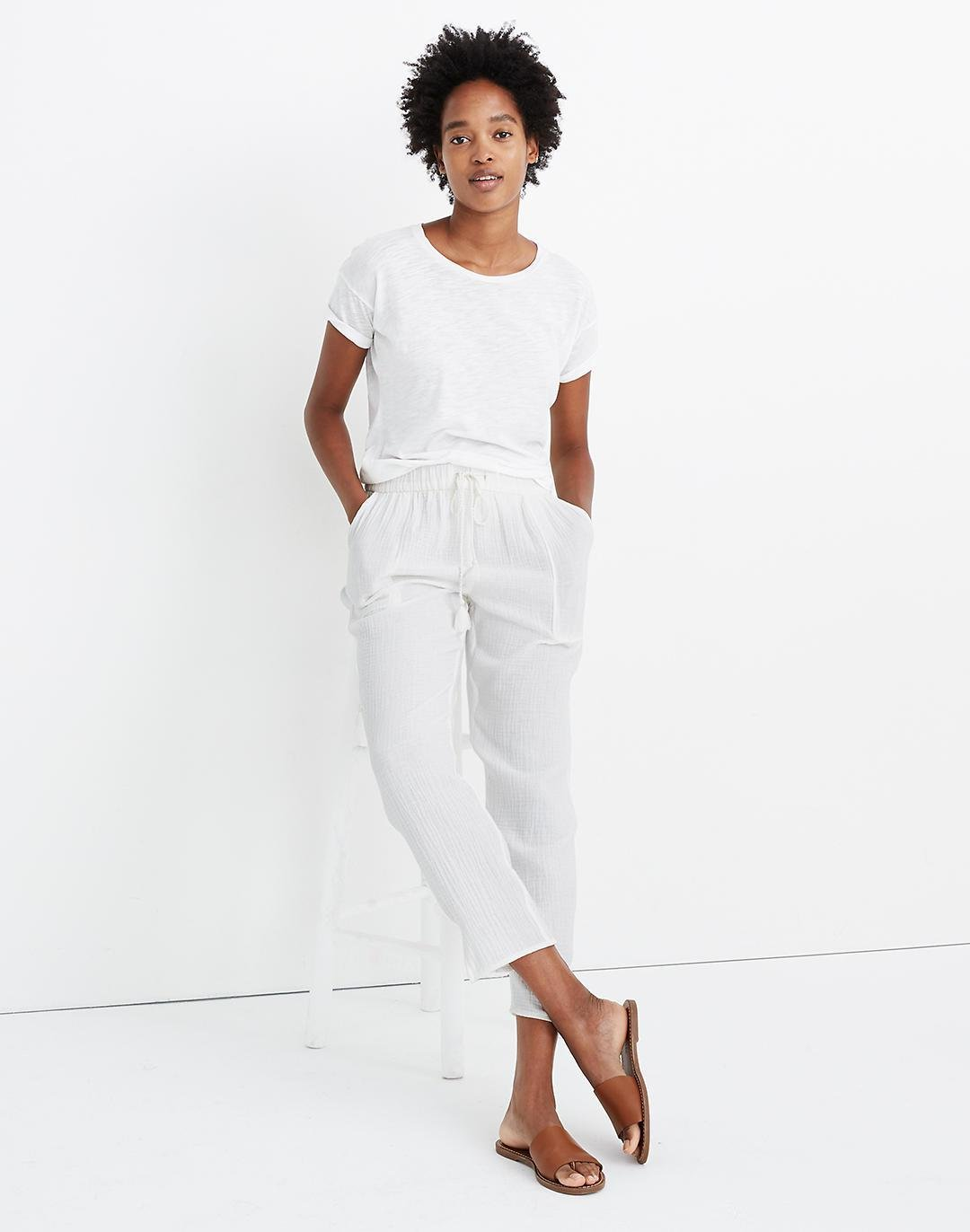 Beach Cover-Up Track Trousers