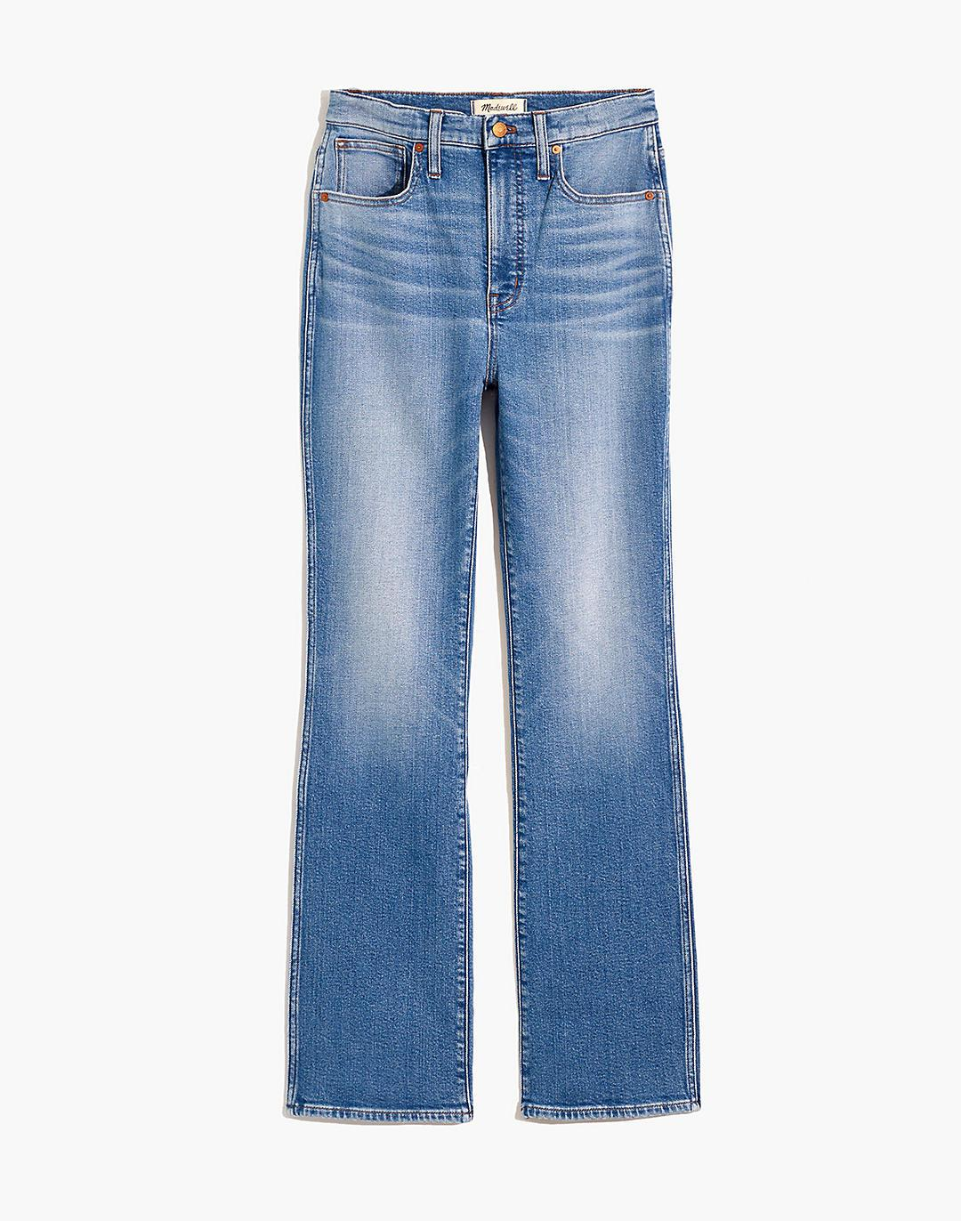 Plus High-Rise Bootcut Jeans in Danver Wash