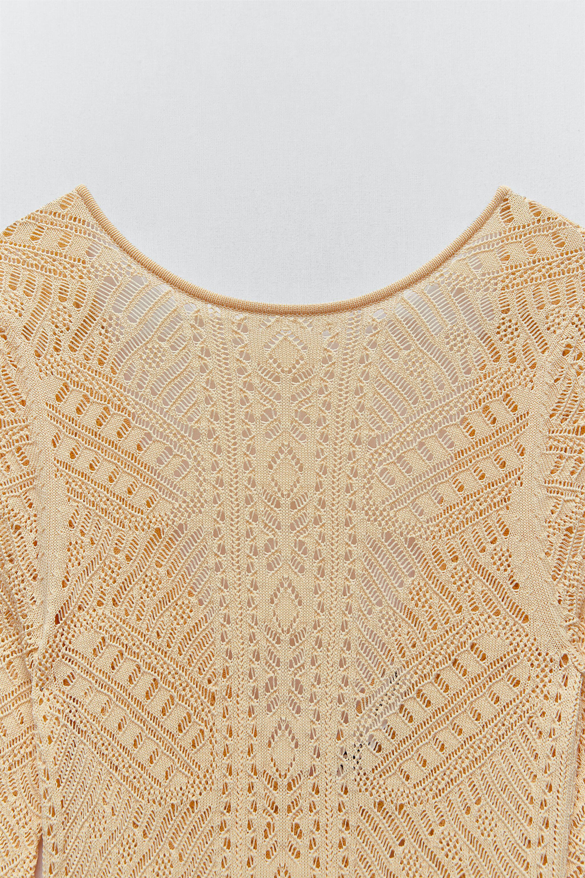 POINTELLE KNIT DRESS LIMITED EDITION 4