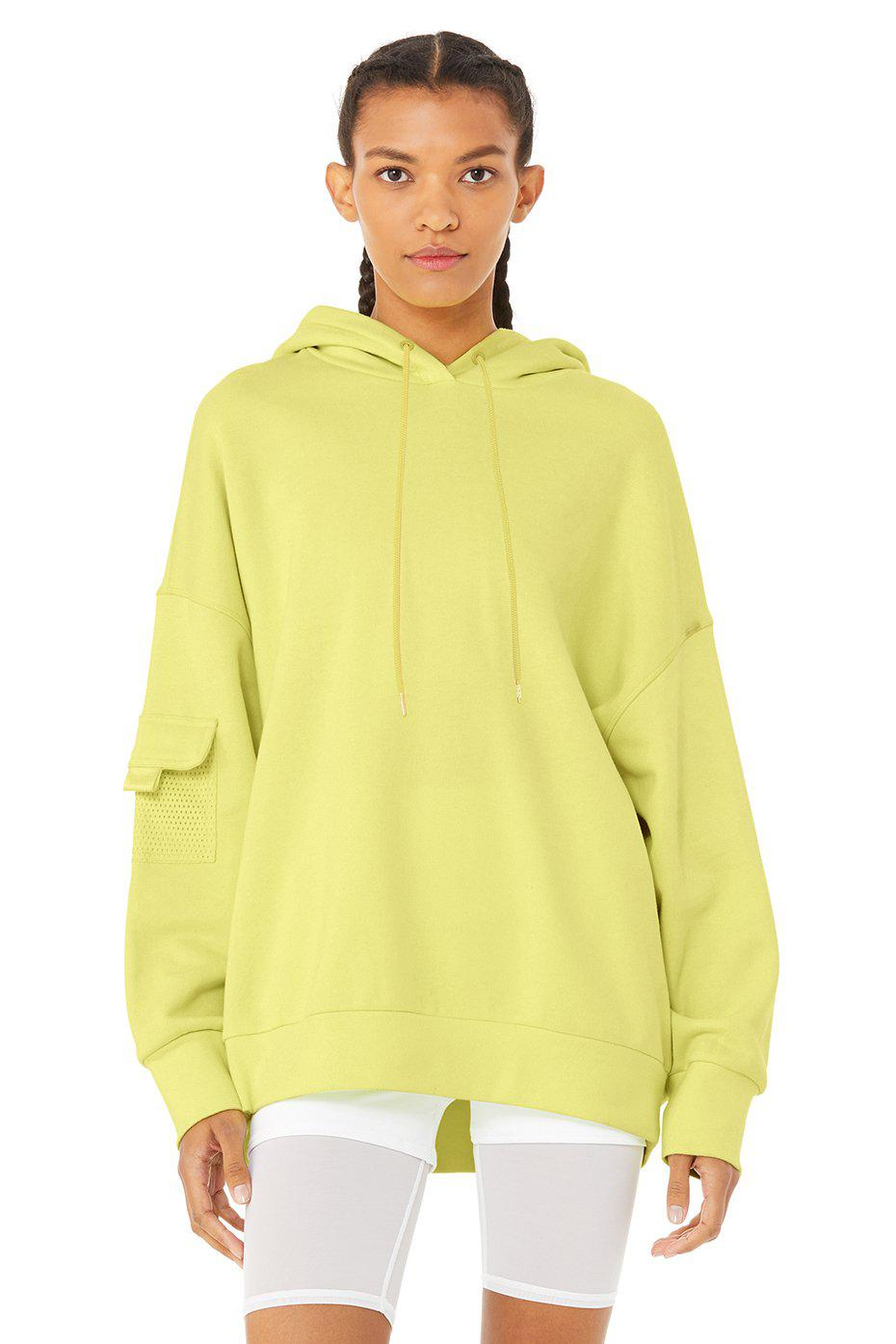 At Ease Hoodie - Neon Shock Yellow